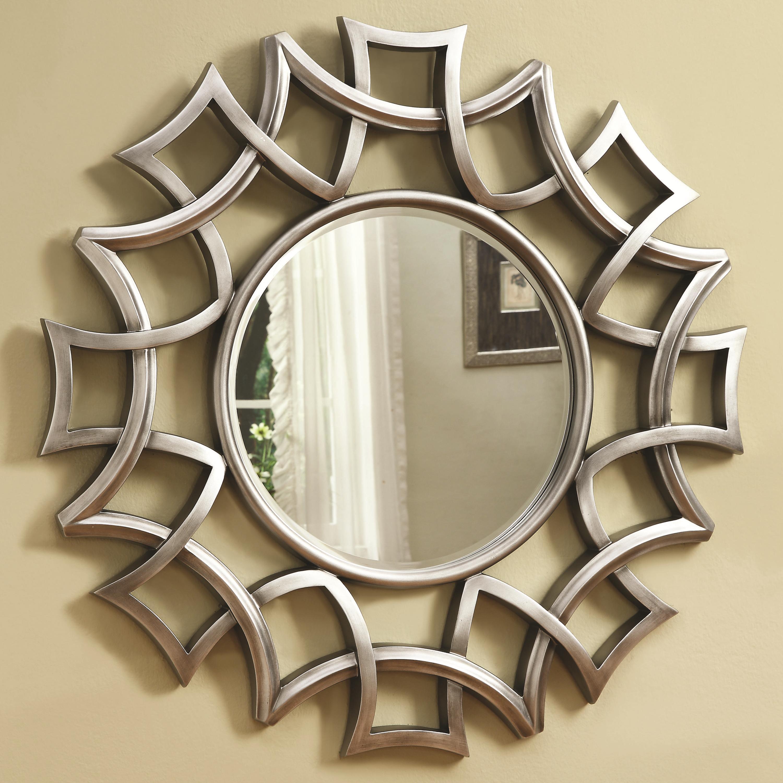 Coaster accent mirrors 901733 starburst accent mirror in for Mirror of mirror