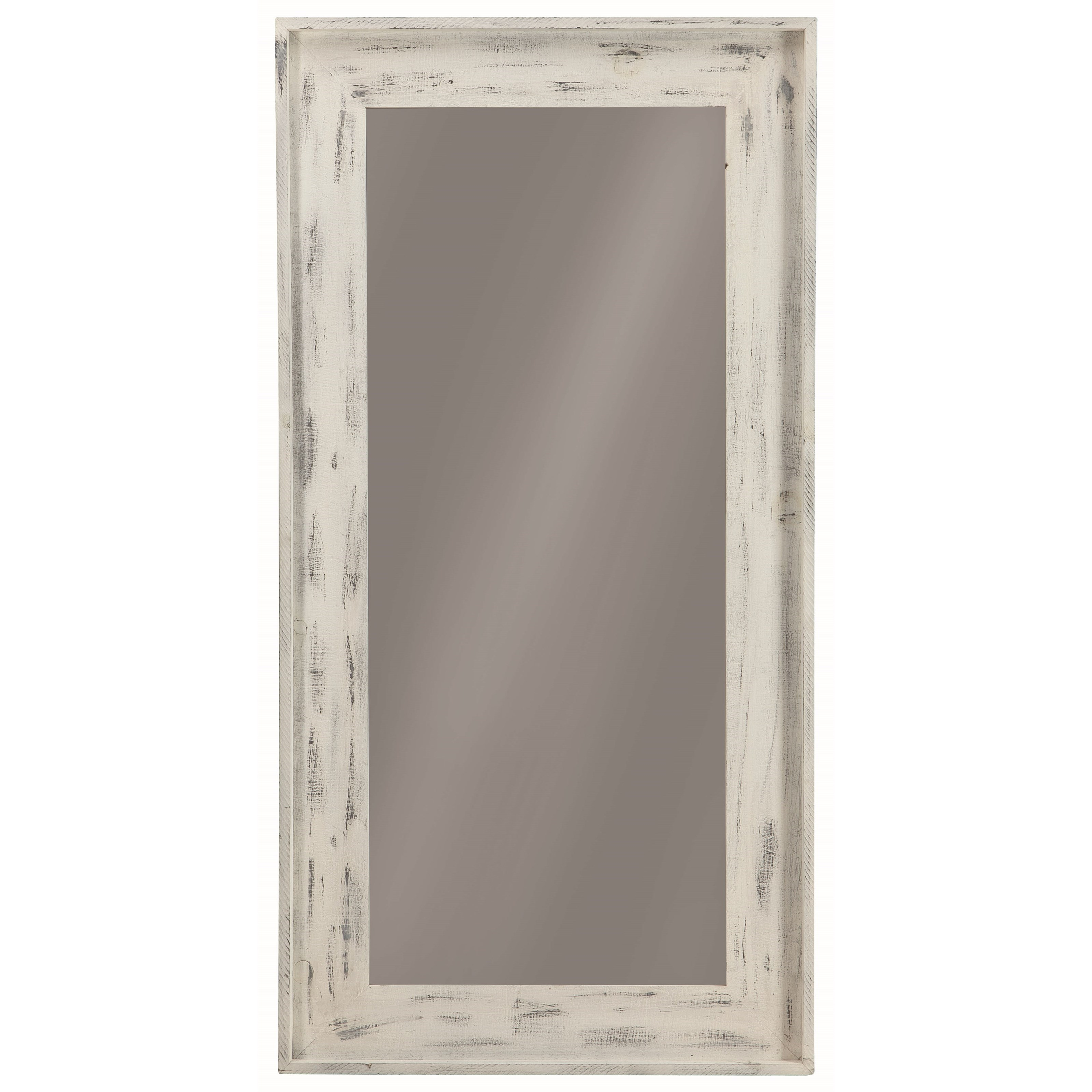 Coaster accent mirrors 902749 distressed frame accent for Accent wall mirrors