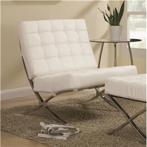 Coaster Accent Seating Contemporary Waffle Accent Chair