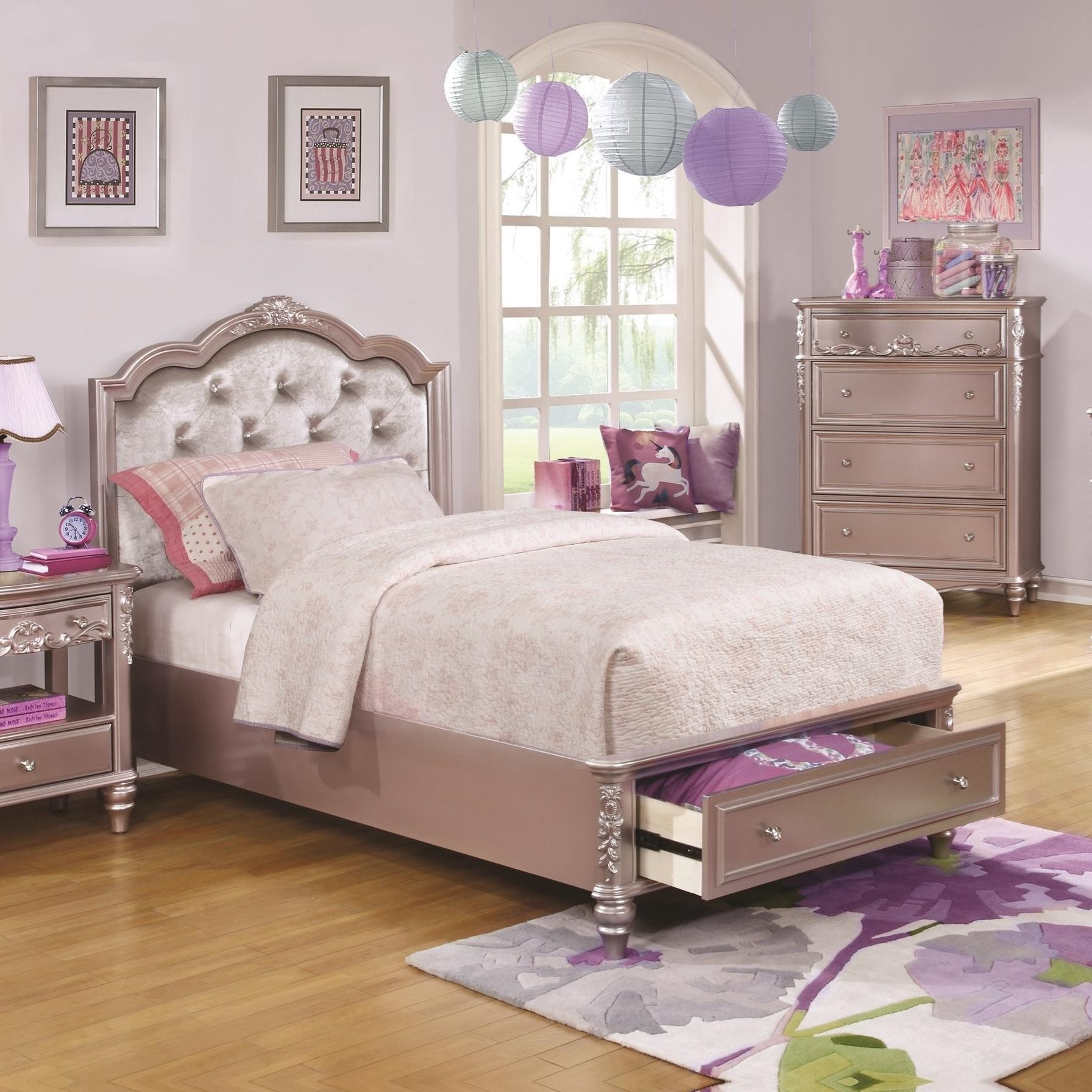 Coaster Caroline 400891F Full Size Storage Bed With