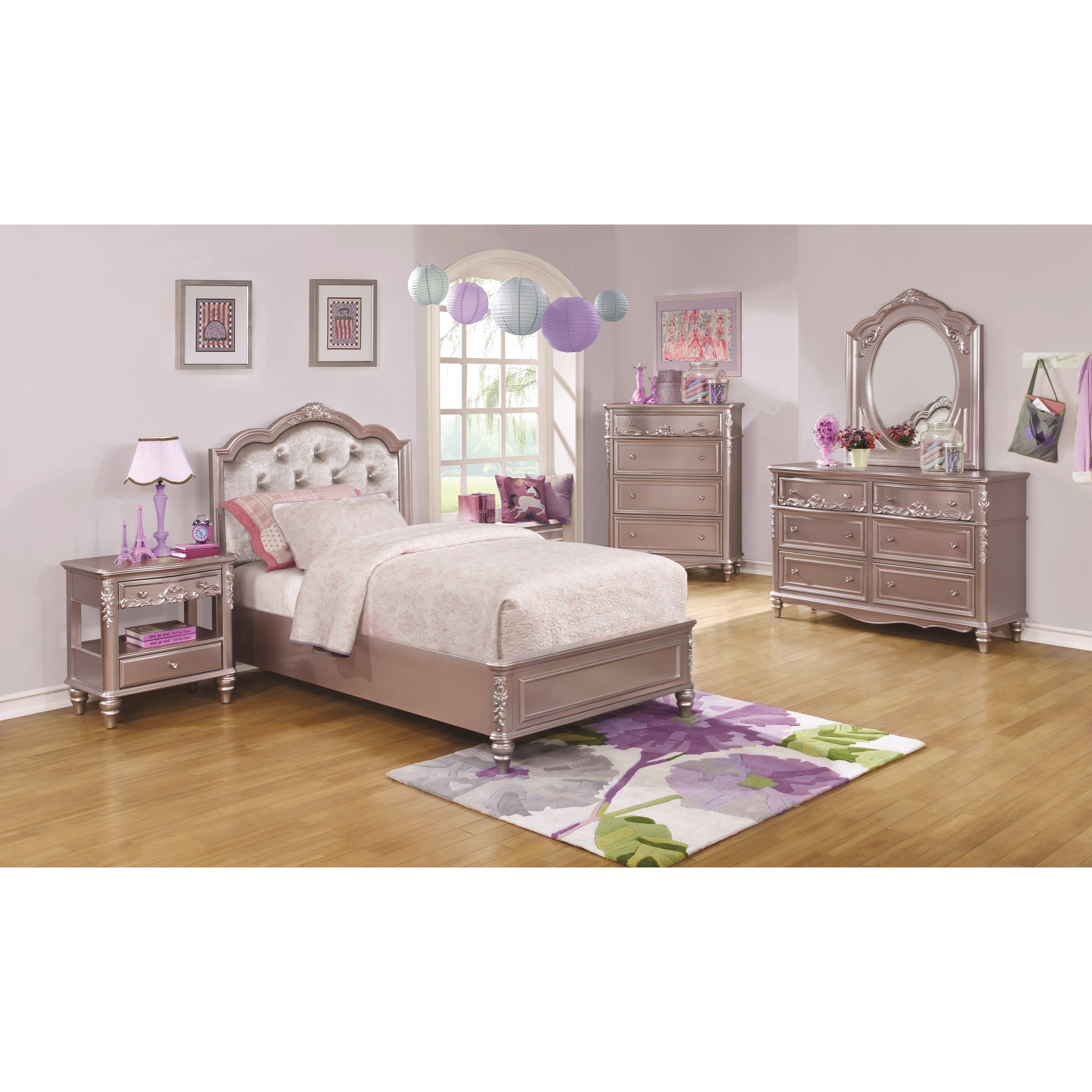 Coaster Caroline T Twin Size Storage Bed with