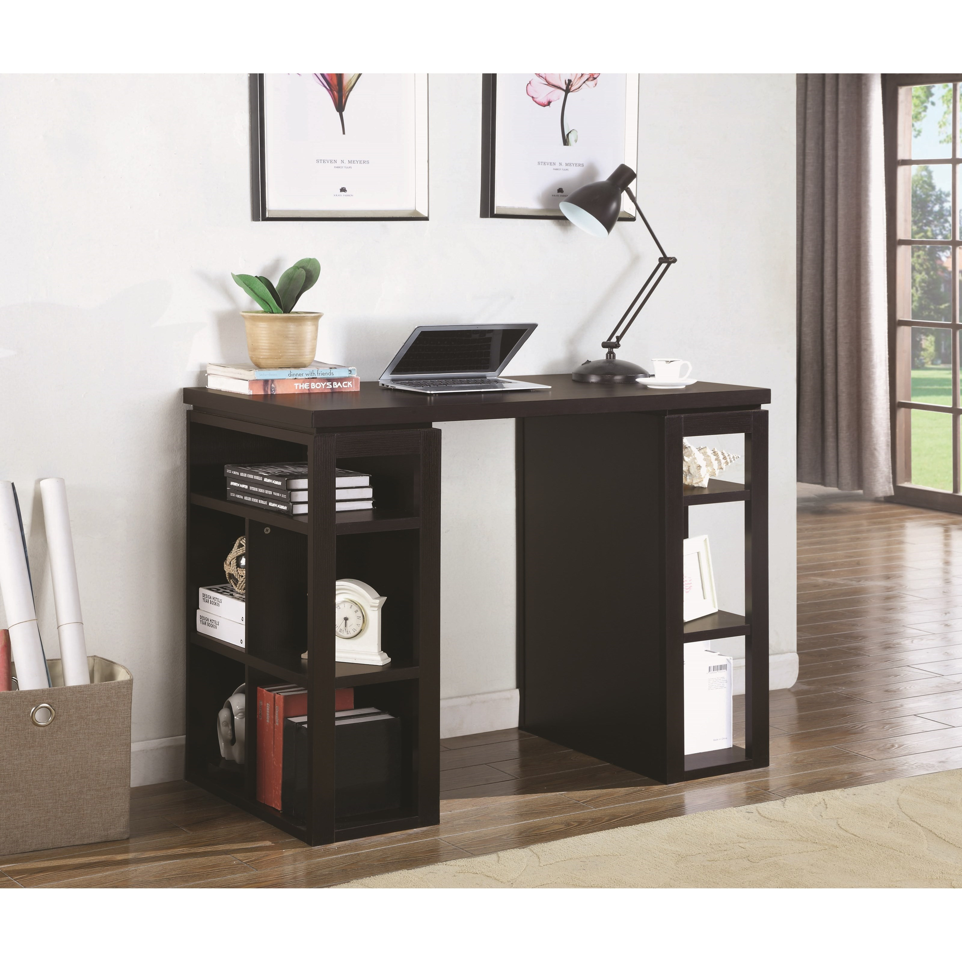 Counter Height Work Station : Coaster Desks Counter Height Writing Desk - Furniture Superstore - NM ...