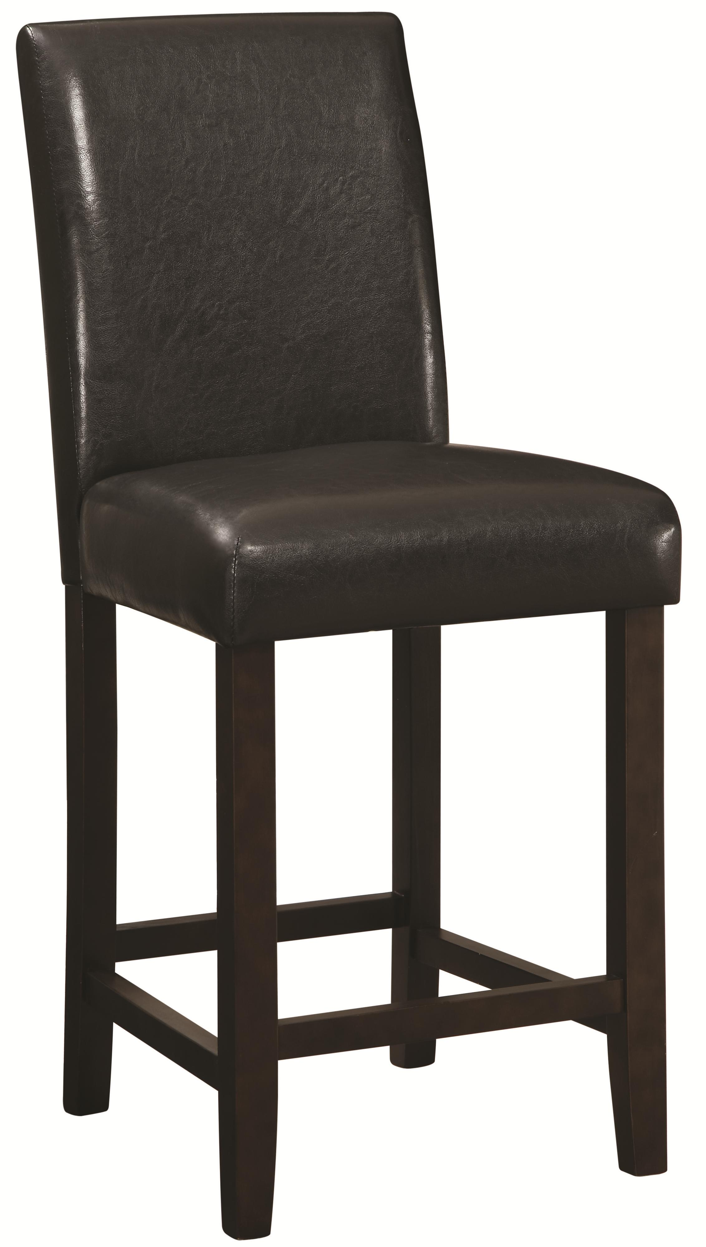 Coaster dining chairs and bar stools 130059 24 counter for Counter height stools
