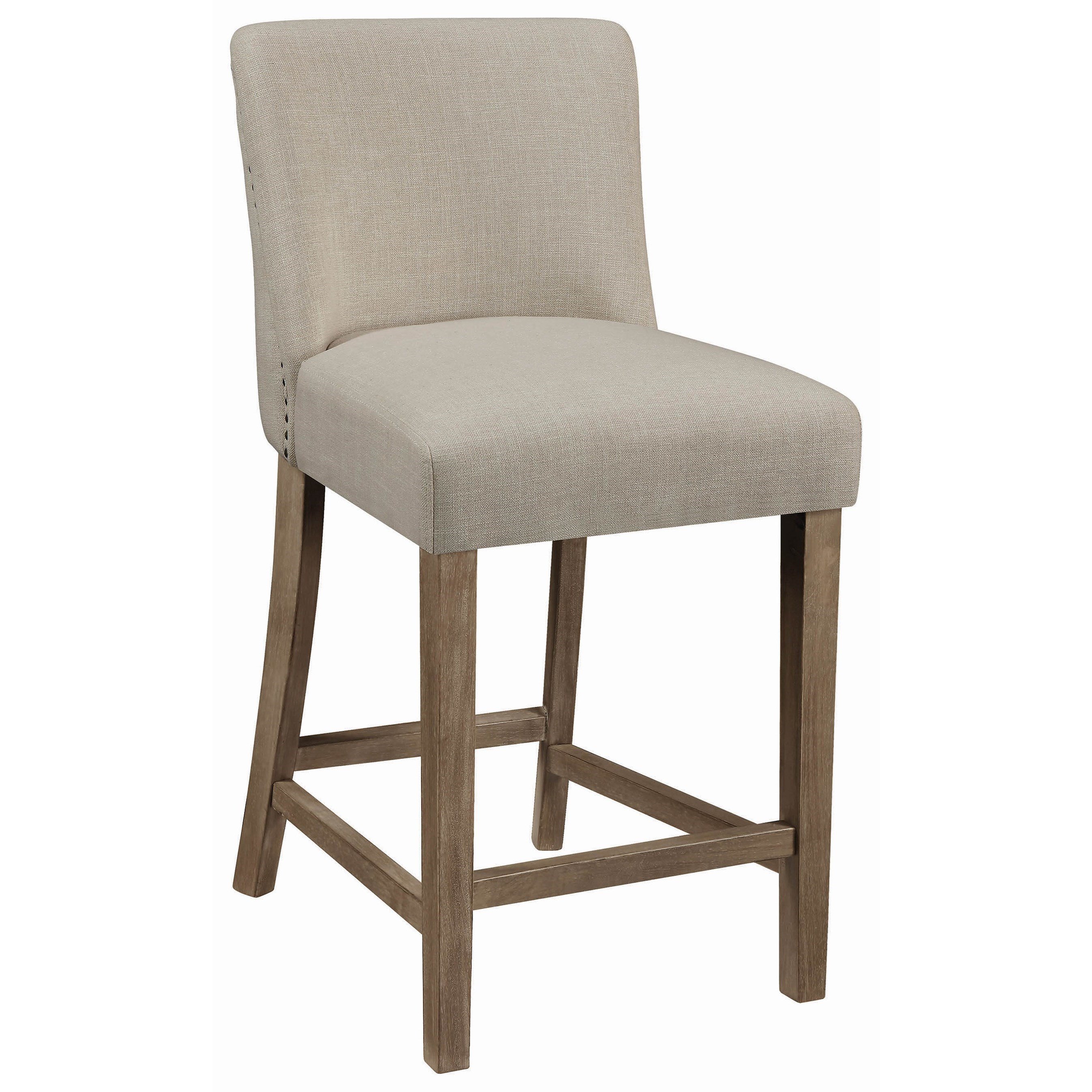 coaster dining chairs and bar stools vintage counter height stool with nailheads standard. Black Bedroom Furniture Sets. Home Design Ideas