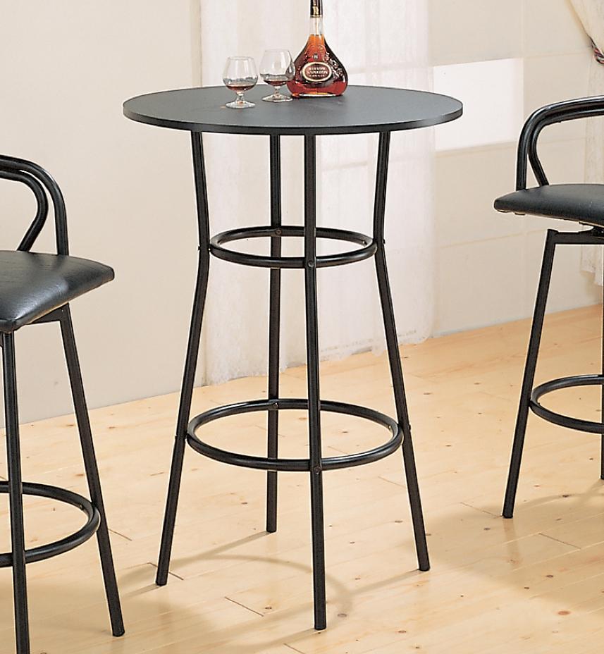 Coaster Dixie Round Bar Table Value City Furniture Pub Tables