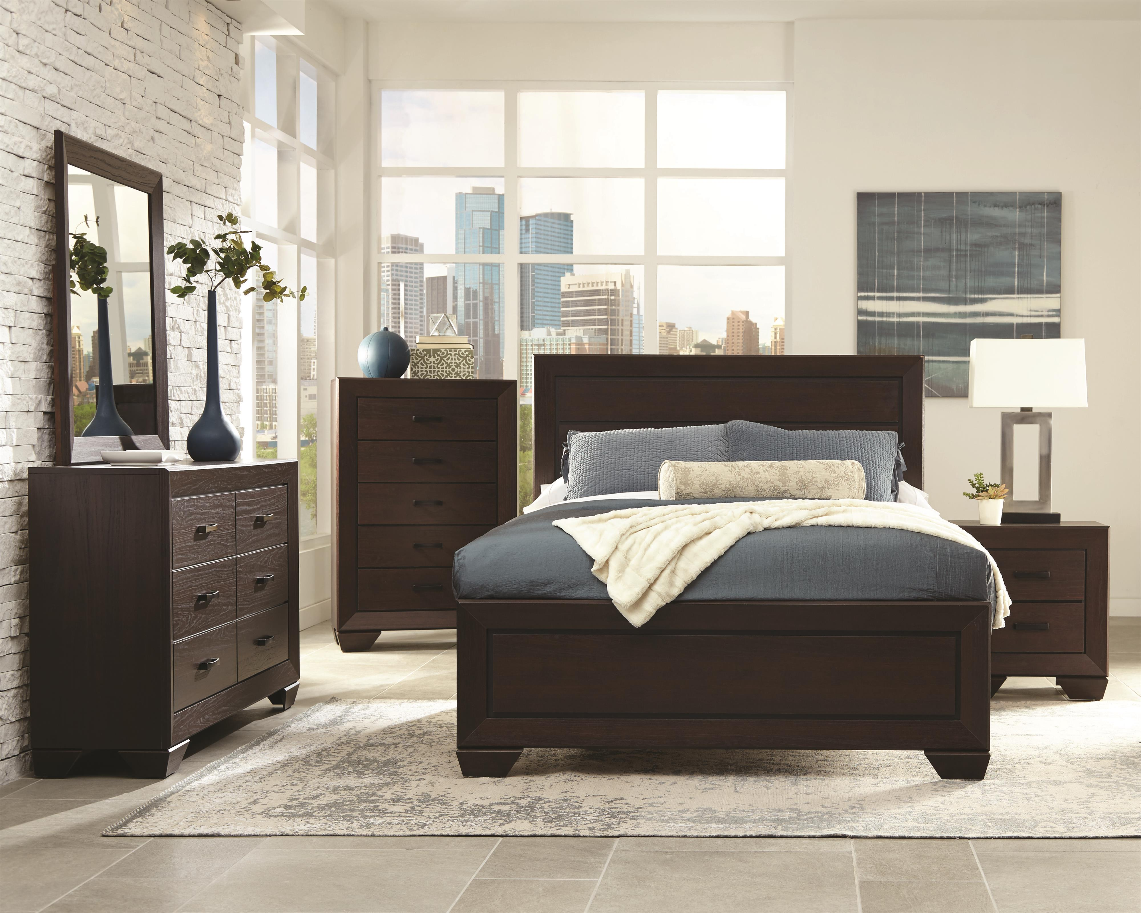 coaster fenbrook king bedroom group beck 39 s furniture bedroom groups. Black Bedroom Furniture Sets. Home Design Ideas