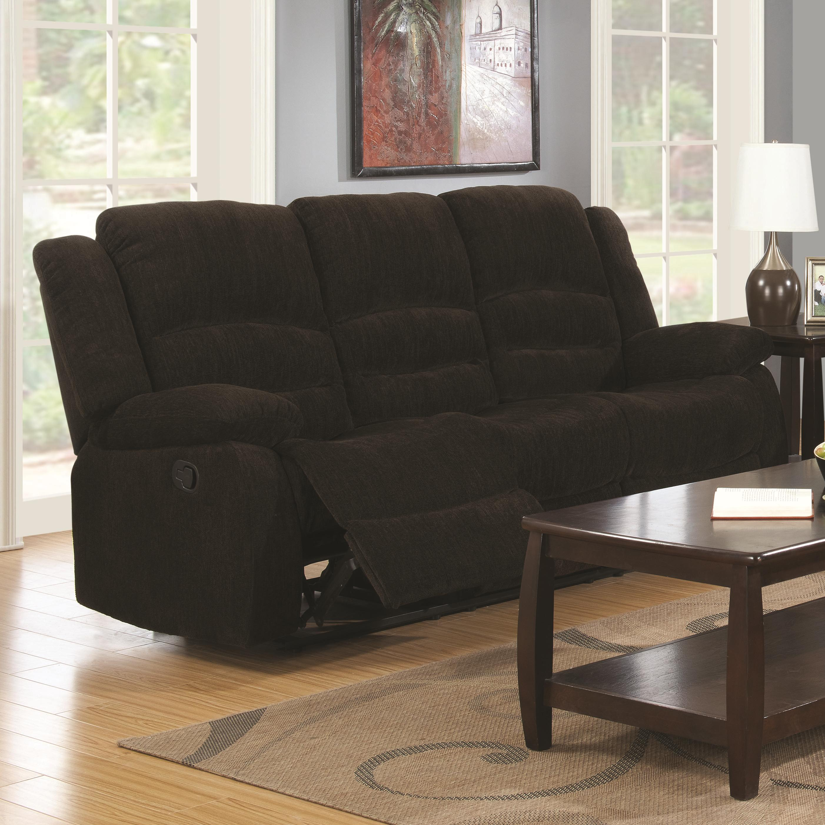 Coaster Gordon Casual Reclining Sofa Rife 39 S Home