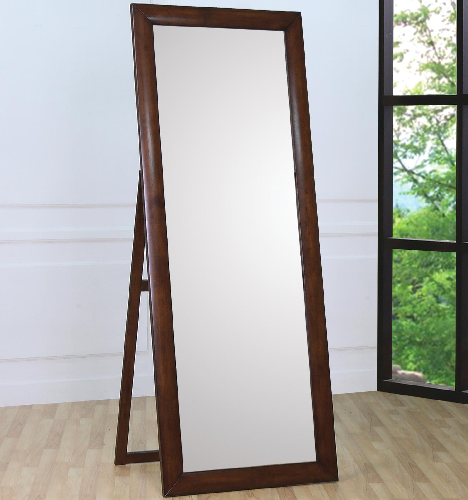 Coaster hillary and scottsdale contemporary standing floor for Mirror stand