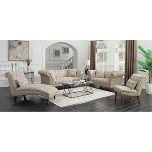 Fine Furniture Josephine Living Room Group Del Sol