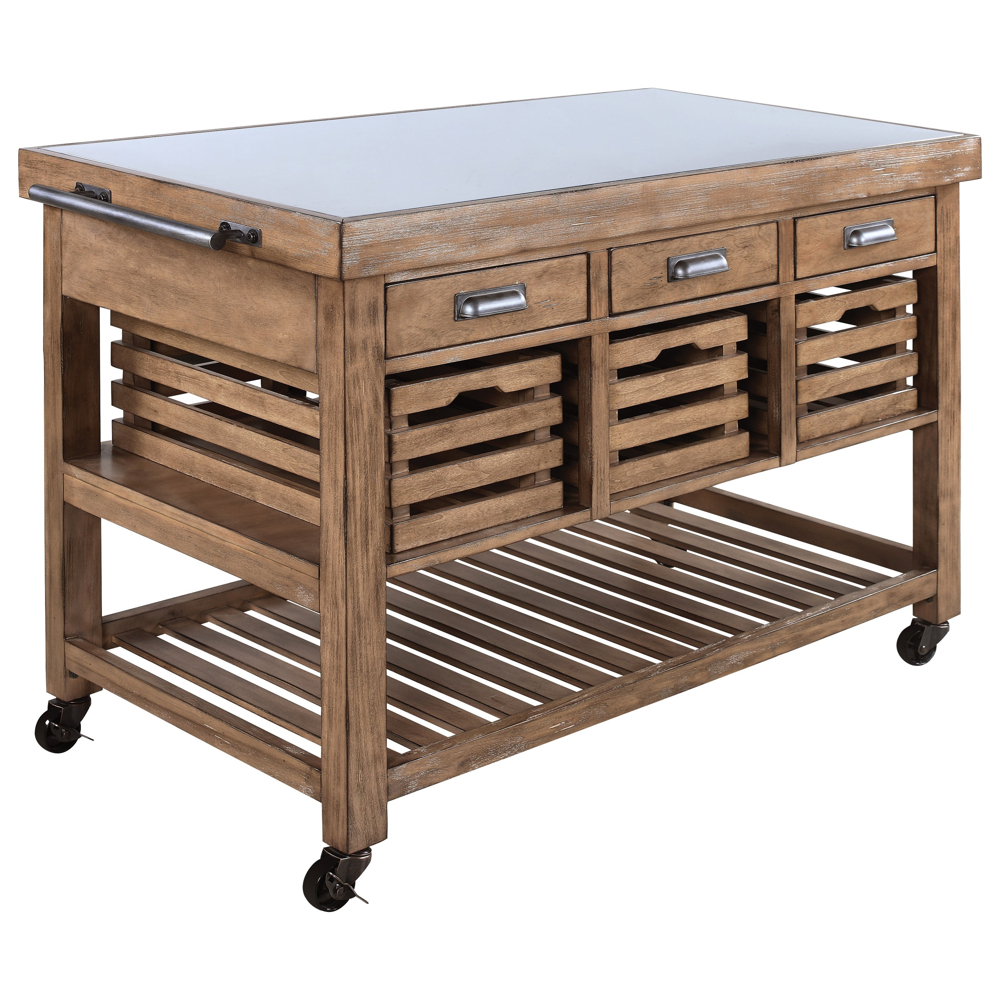 Coaster Kitchen Carts 100307 Serving Trolley With