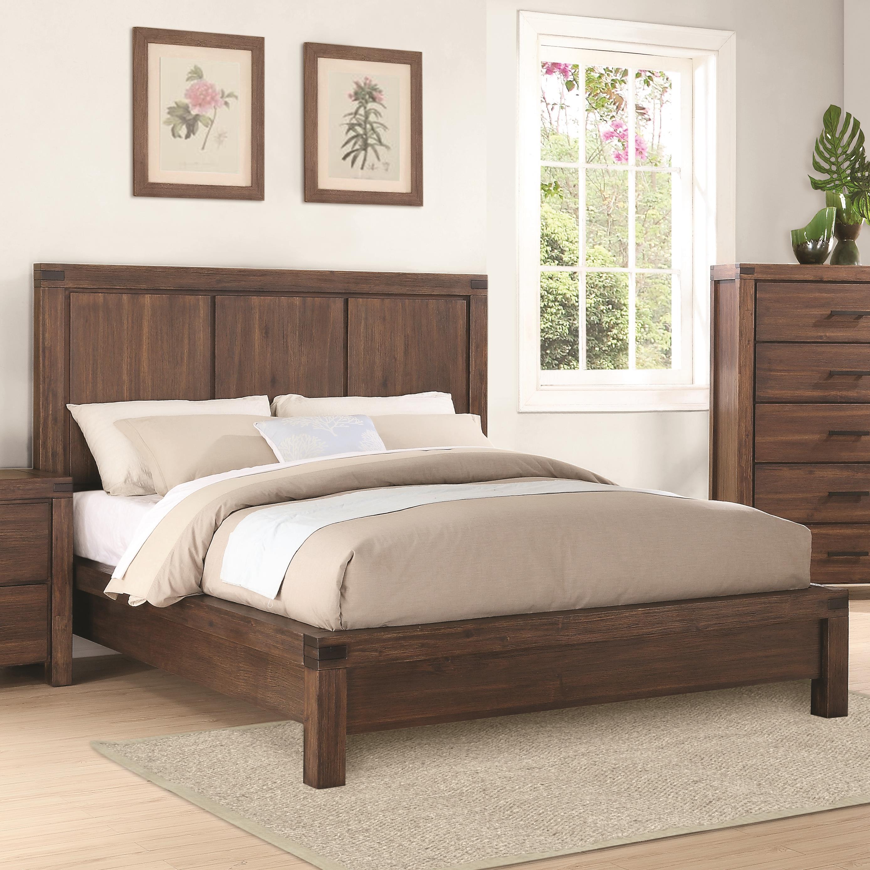 Coaster Lancashire Queen Platform Bed Value City Furniture Platform Beds Low Profile Beds