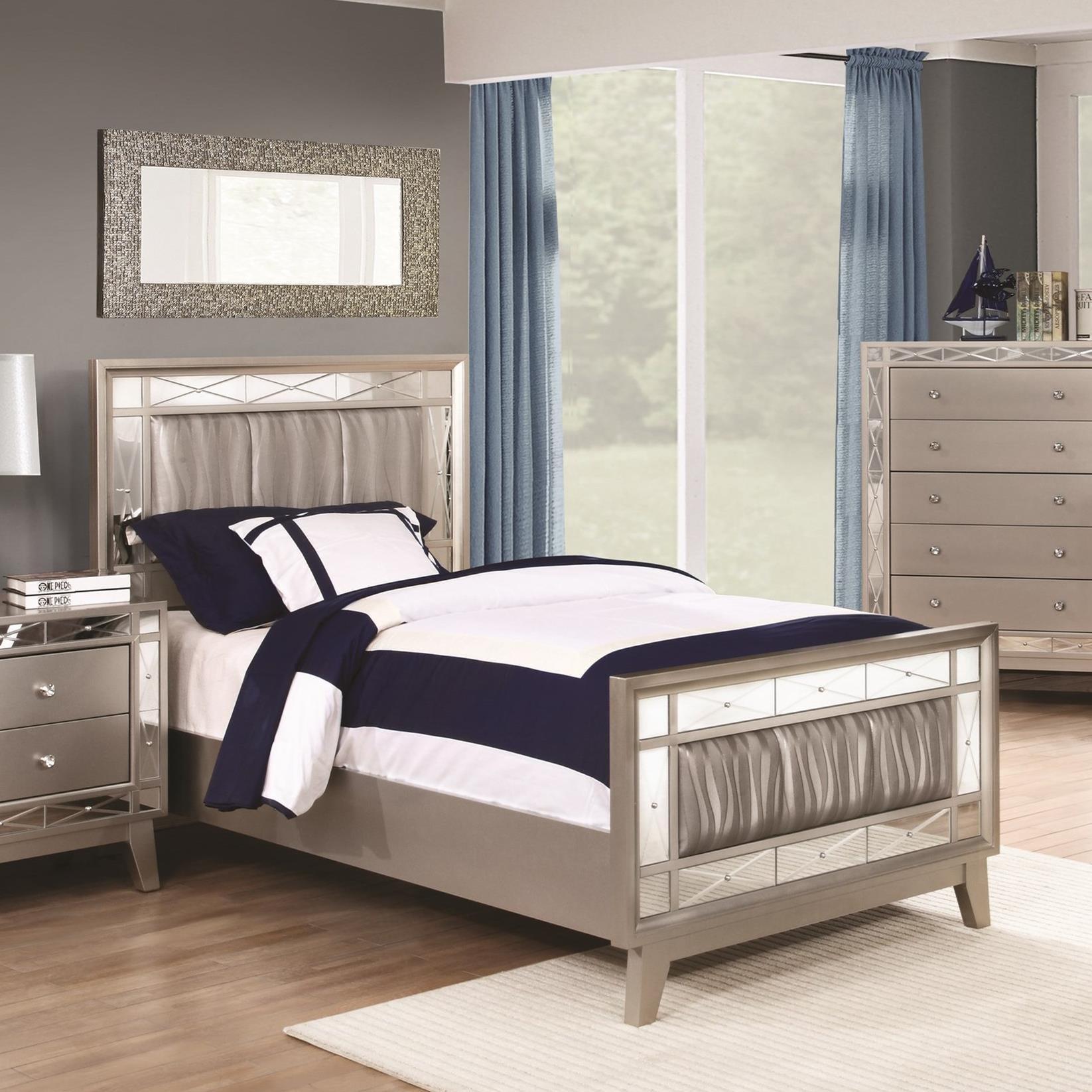 coaster leighton twin bed nassau furniture panel beds