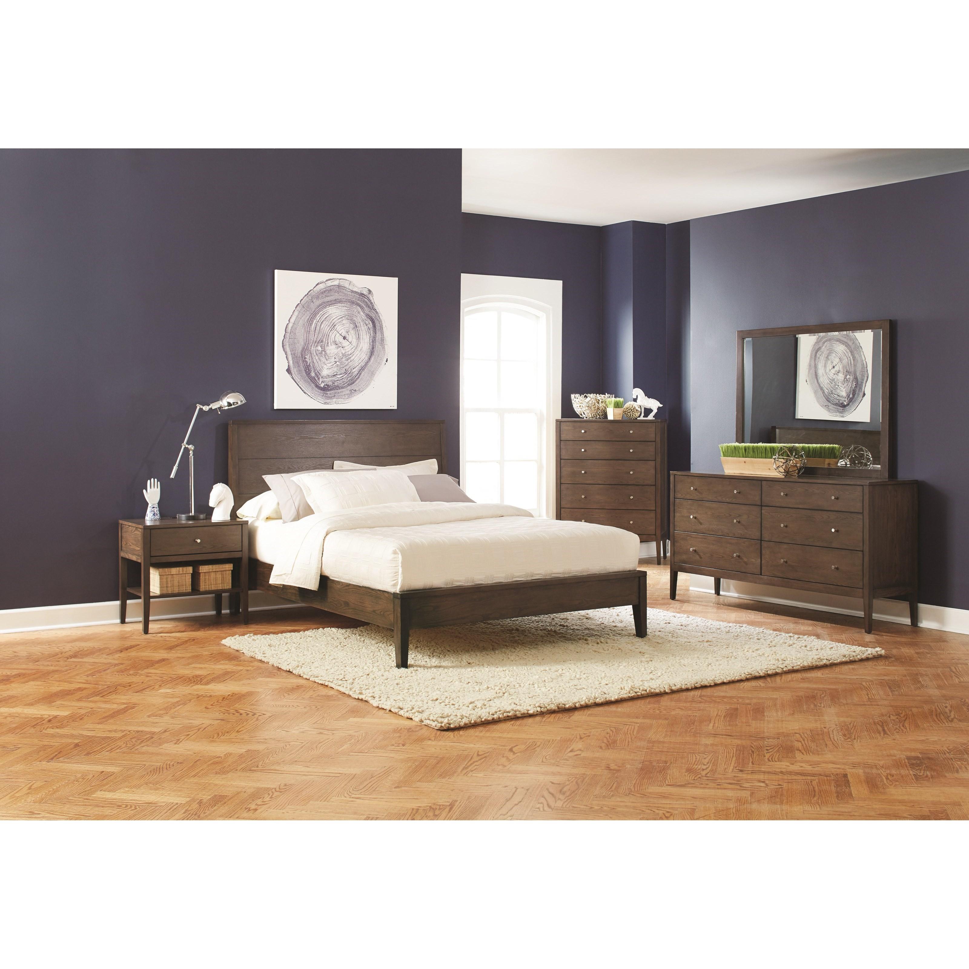 Coaster lompoc queen bedroom group beck 39 s furniture for Bedroom groups