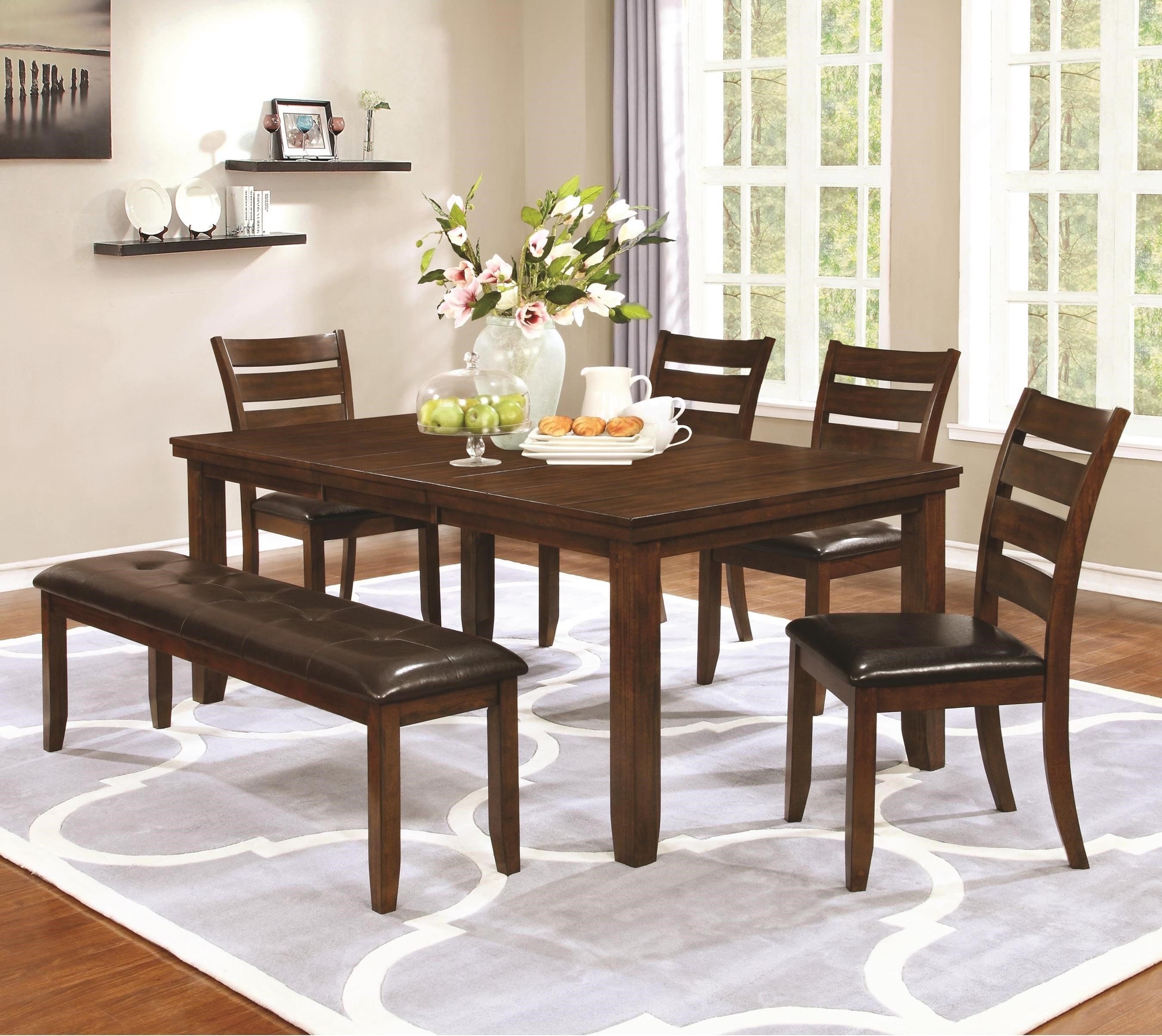 dining table chair set with bench value city furniture table