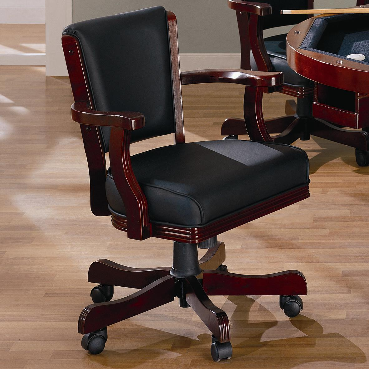 Coaster Mitchell 100202 Upholstered Arm Game Chair Dunk
