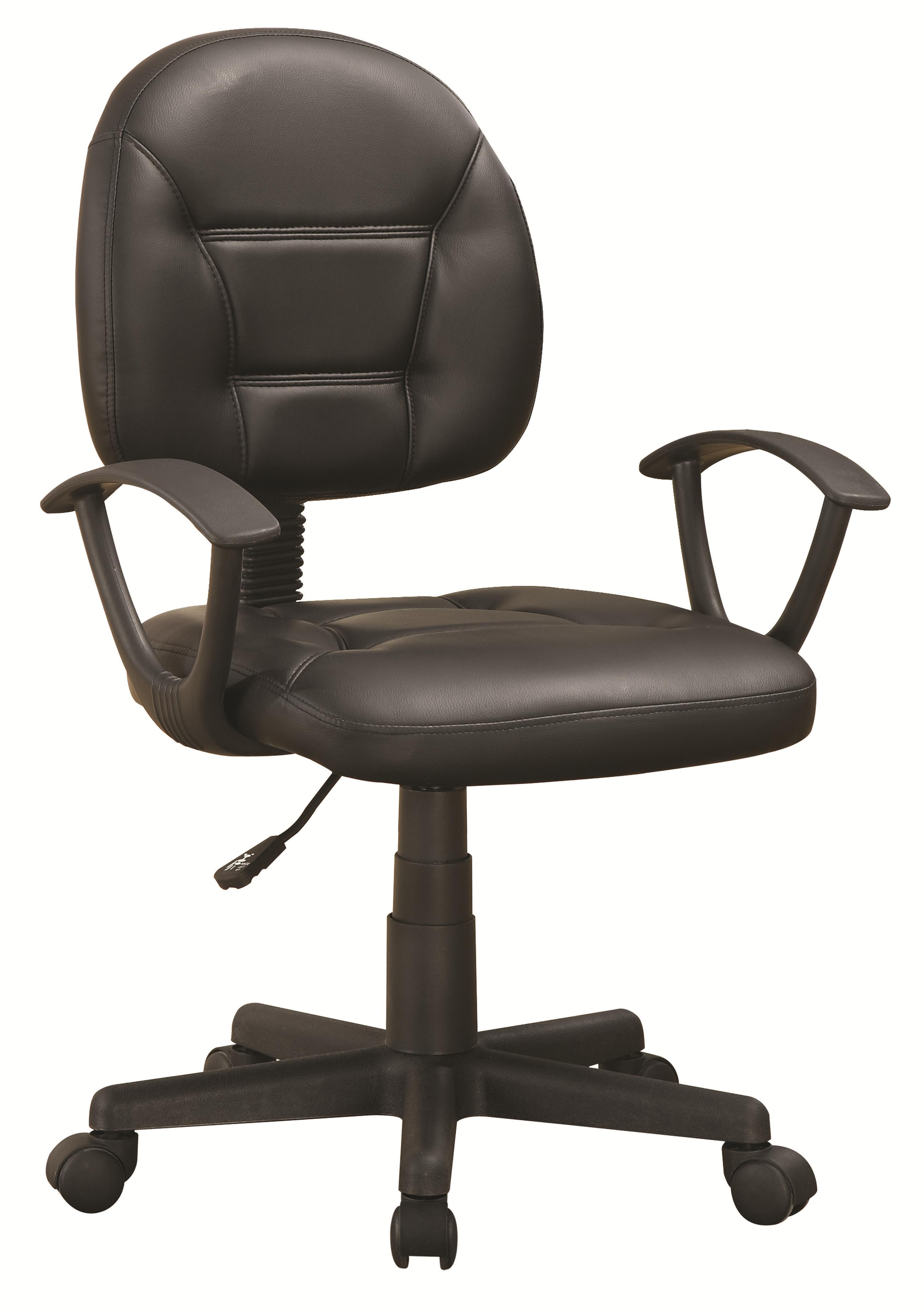 Coaster Office Chairs 800178 Black Office Chair Dunk