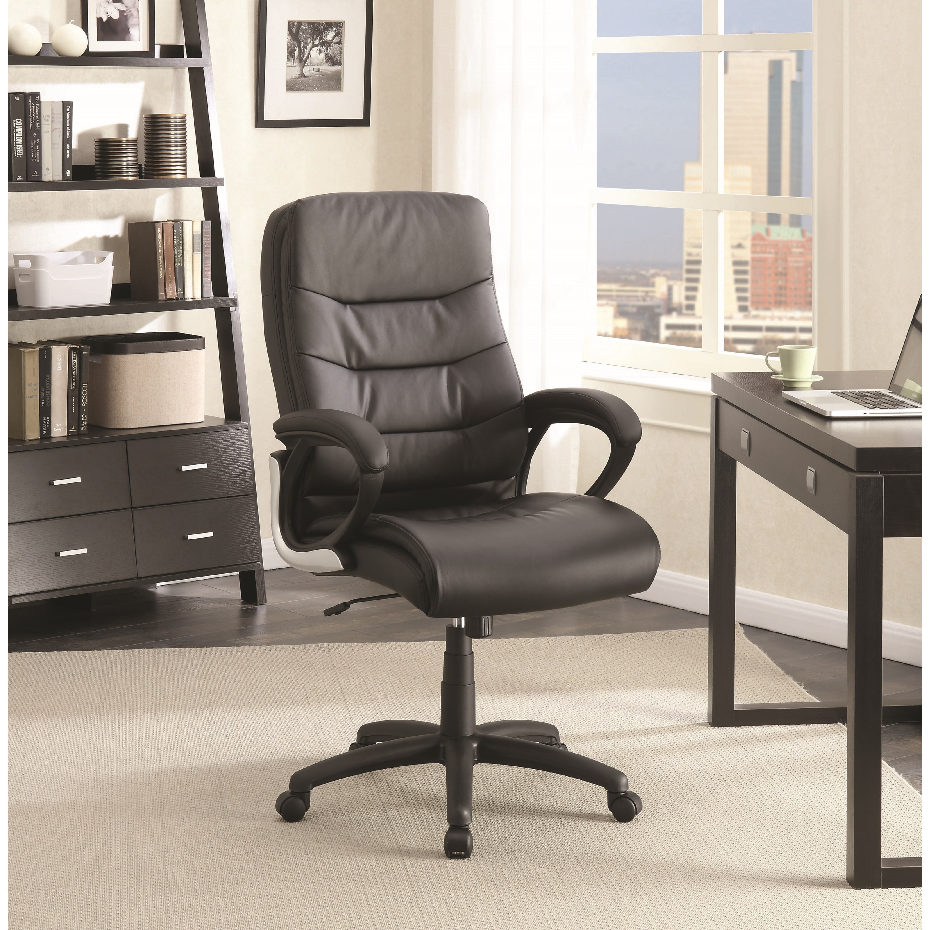 Coaster Office Chairs 801456 Plush Upholstered Office