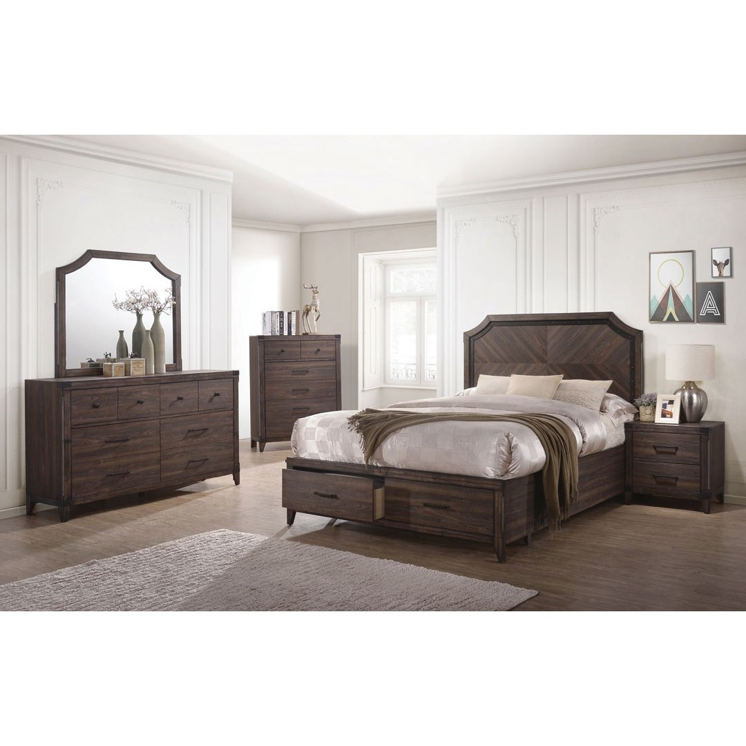 Coaster richmond queen bedroom group miskelly furniture for Bedroom groups