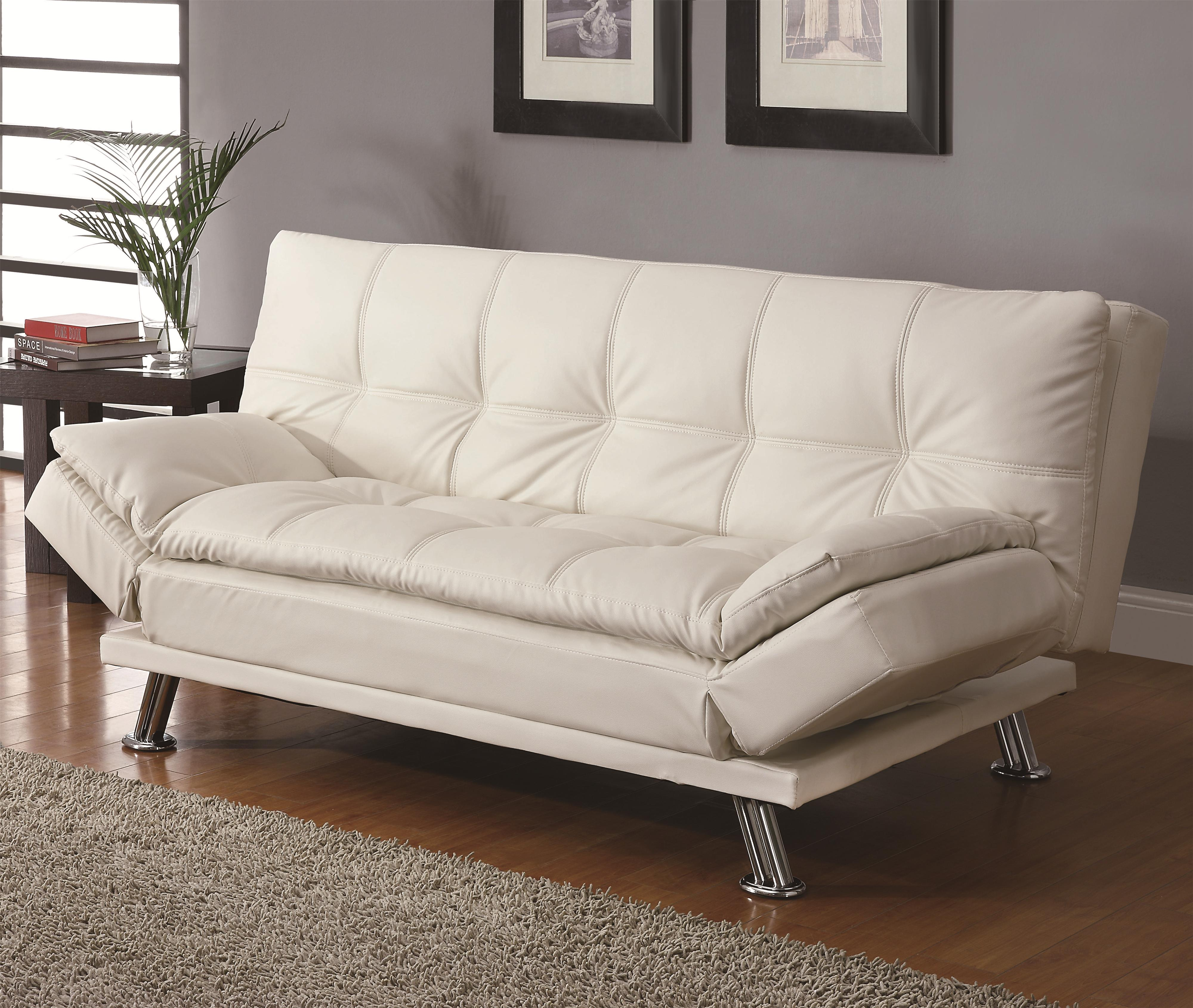 Sofa beds contemporary styled futon sleeper sofa with for Sofa bed philadelphia