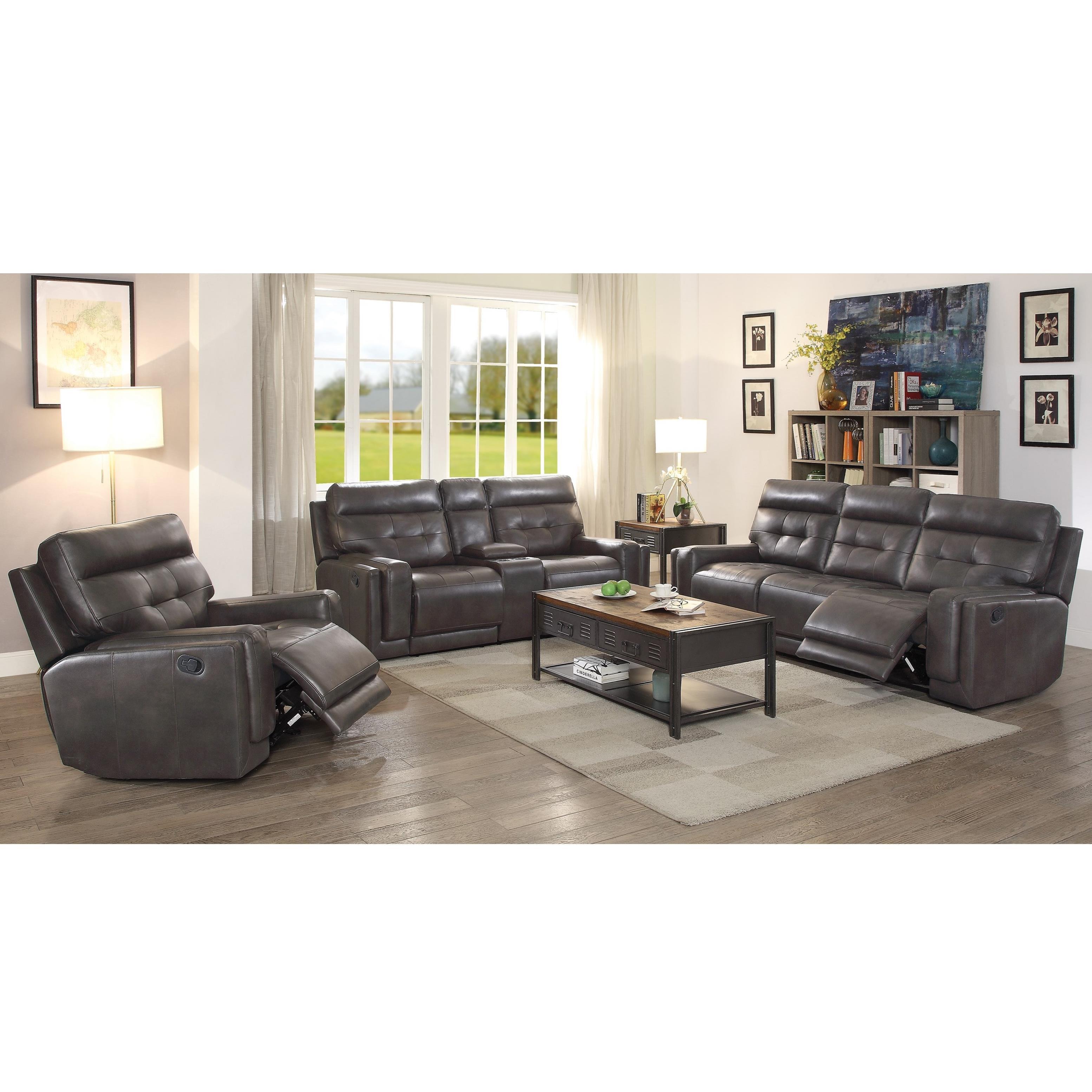 Coaster Trenton Reclining Living Room Group Dunk Bright Furniture R