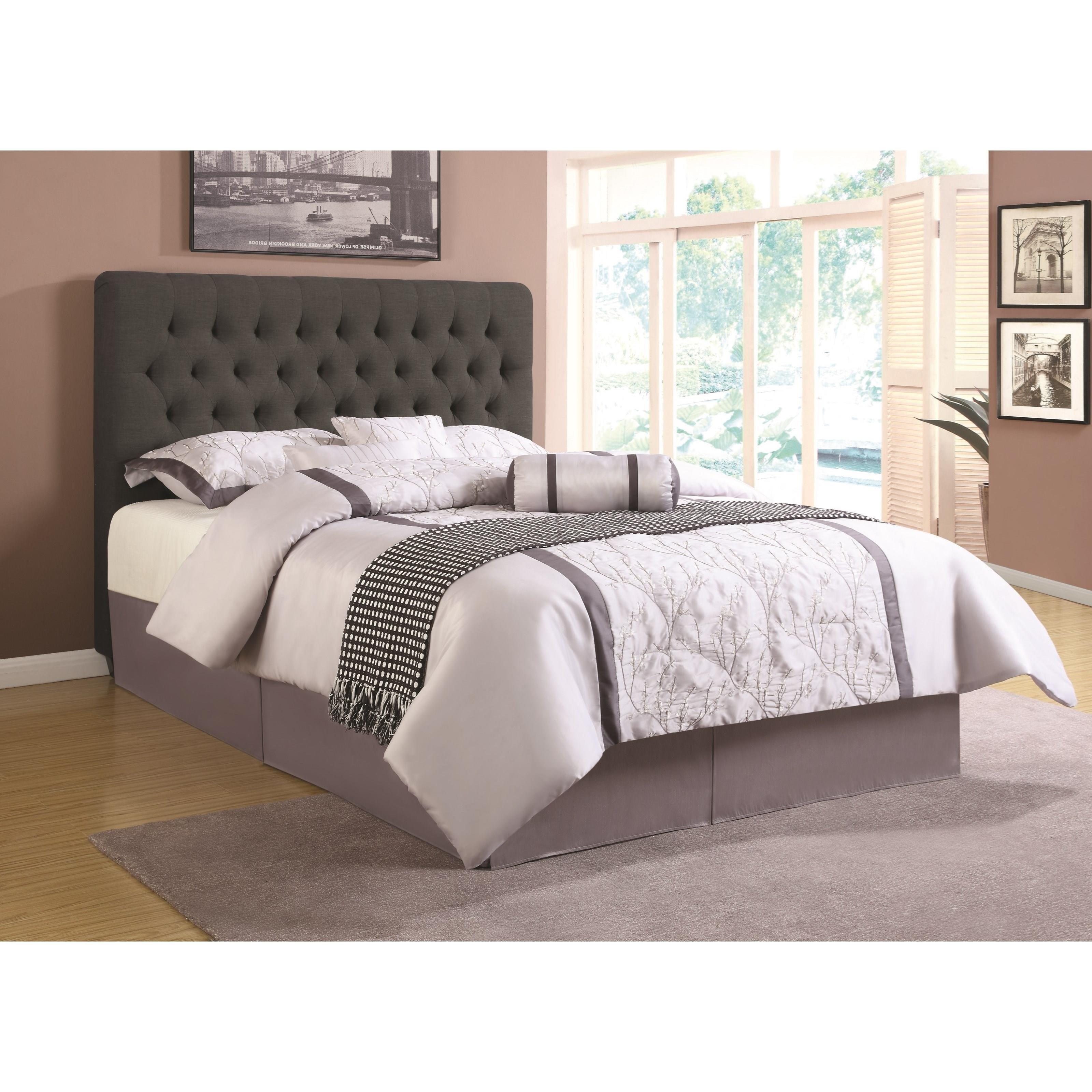 Coaster upholstered beds 300529kwb1 california king for California king headboard