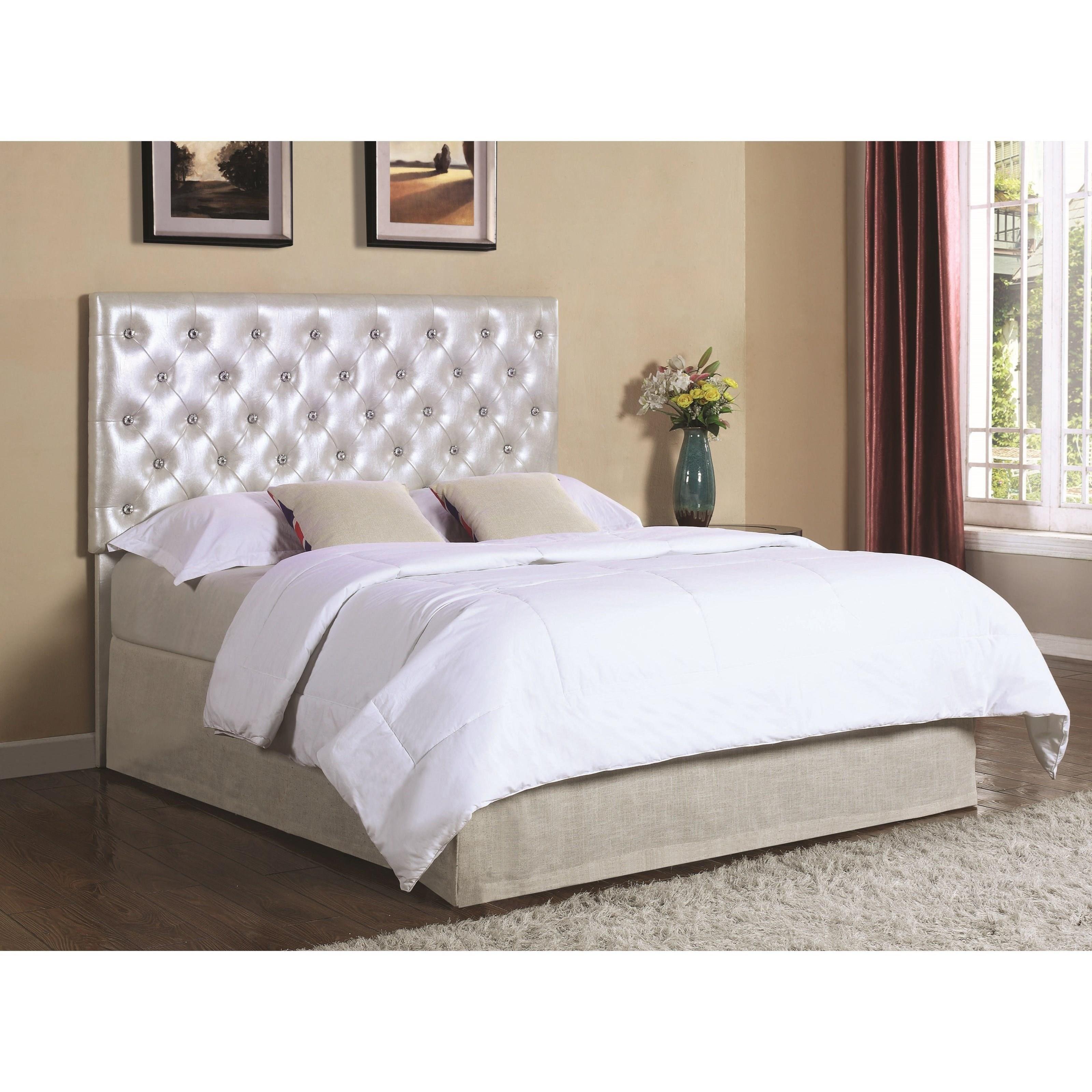 Coaster upholstered beds 300596k upholstered king for California king headboard