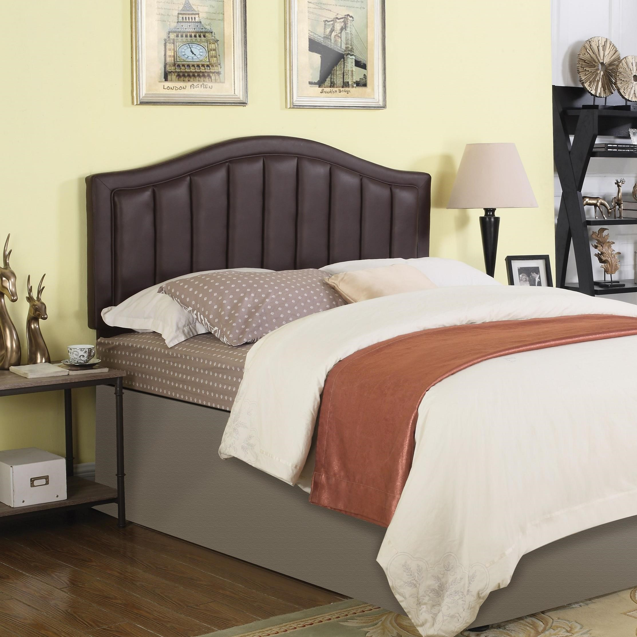 Coaster upholstered beds upholstered full queen headboard for Upholstered full bed
