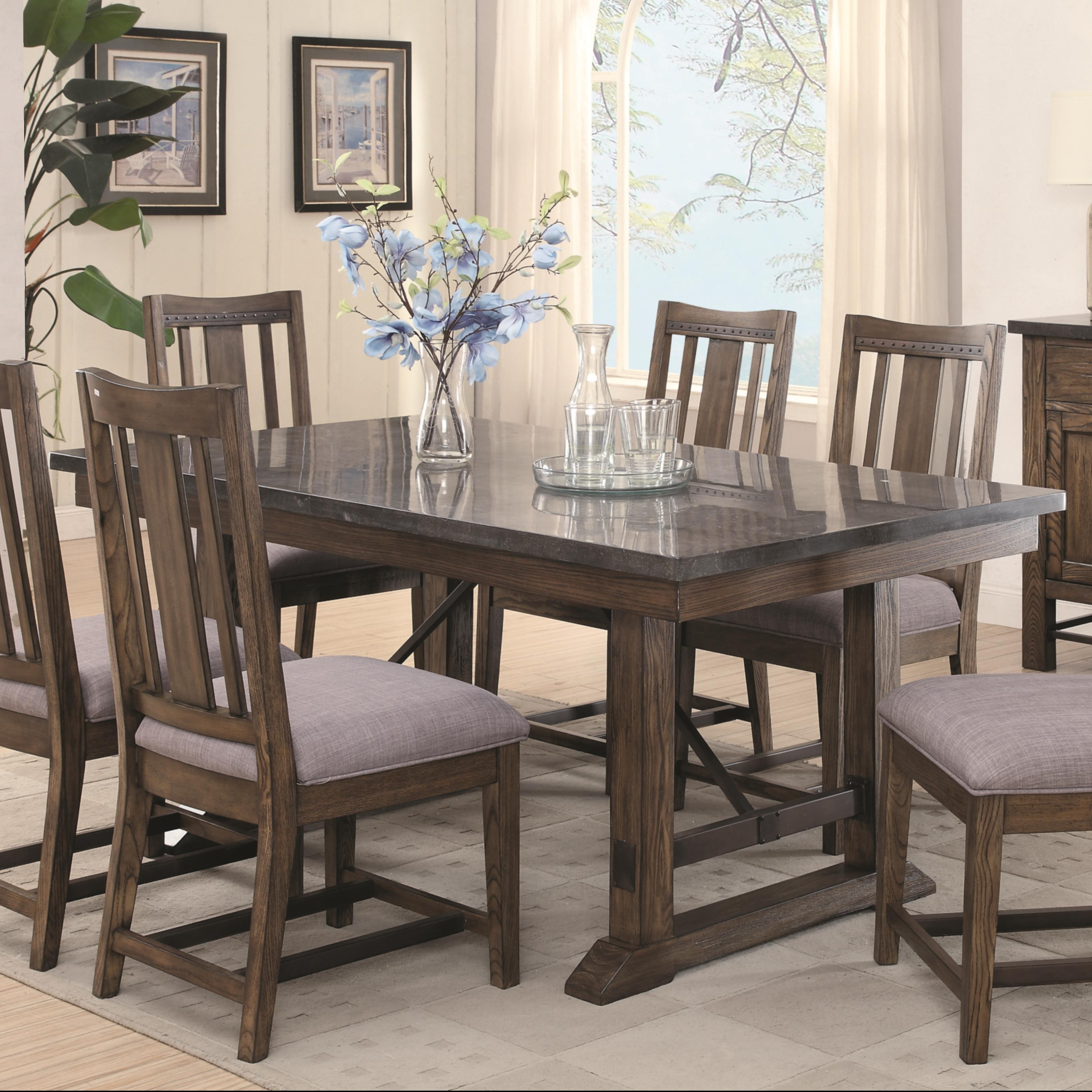 Dining Room Furniture Dining Room Table Coaster Willowbrook Dining