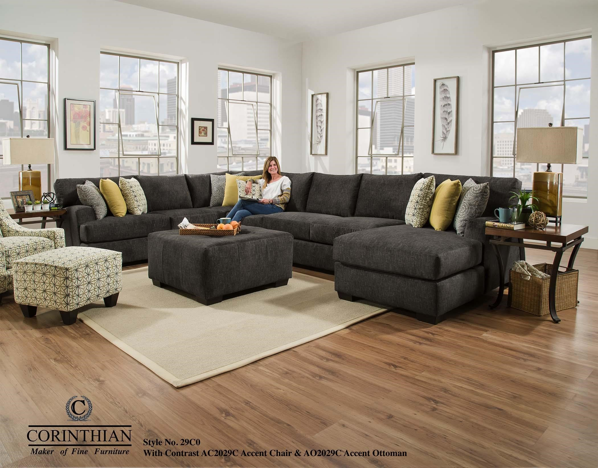 4 Piece Sectional Sofa Signature Design By Ashley