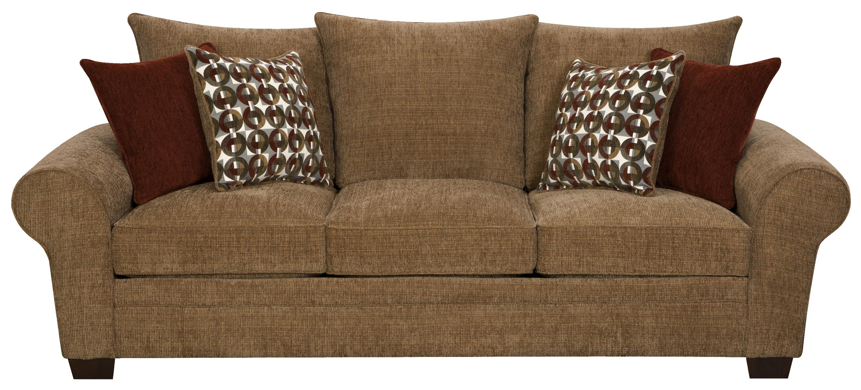 Corinthian 5460 Elegant and Casual Living Room Sofa for