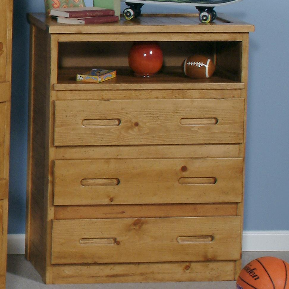 Coronado ponderosa 3 drawer tv chest ivan smith for Ivan smith furniture