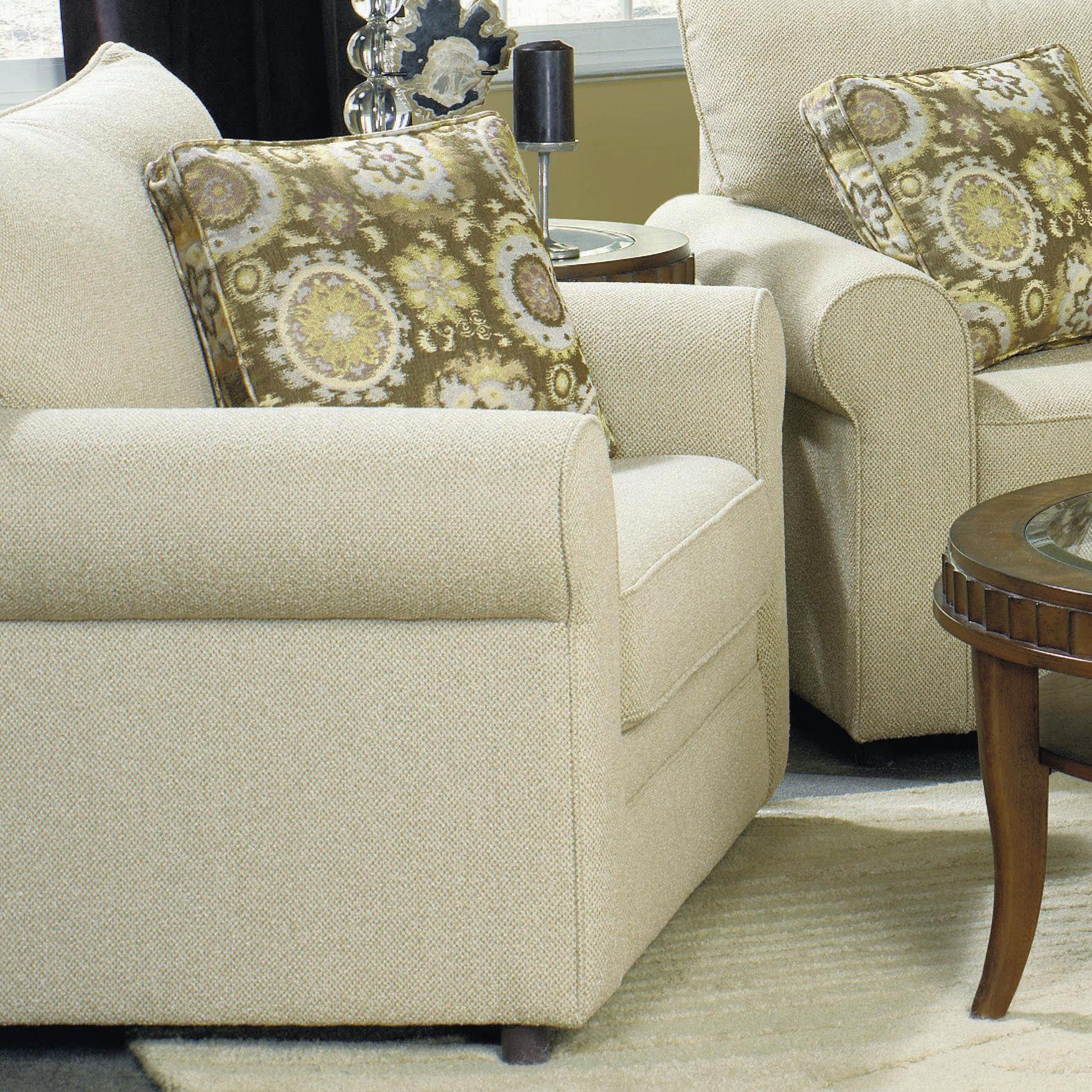 Craftmaster Abbey Casual Chair With Sock Arms Belfort Furniture Upholstered Chairs