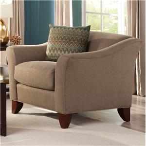 Ashley Furniture Yvette Steel Accent Chair w Loose Seat