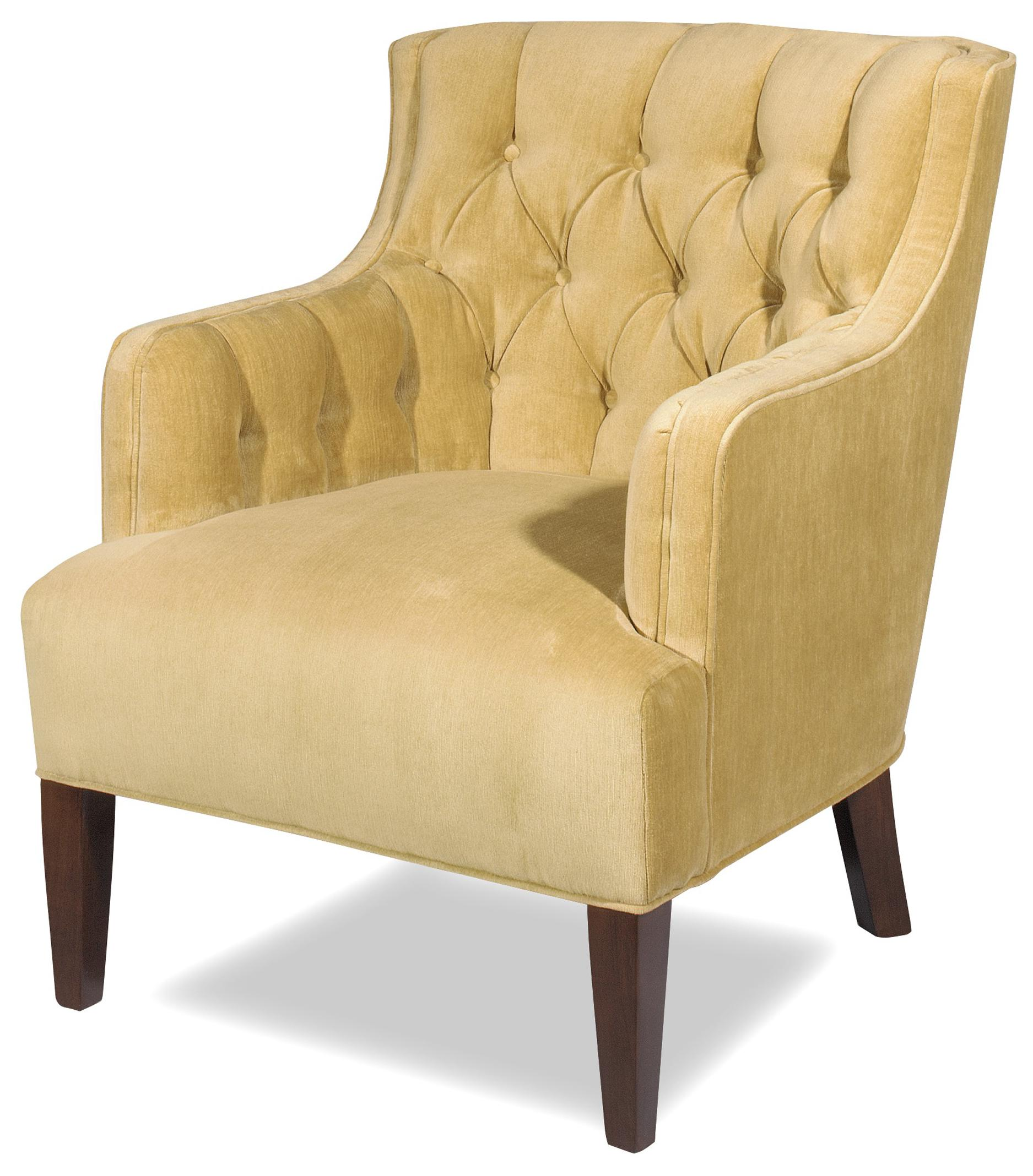 Craftmaster Accent Chairs Transitional Wing Chair With