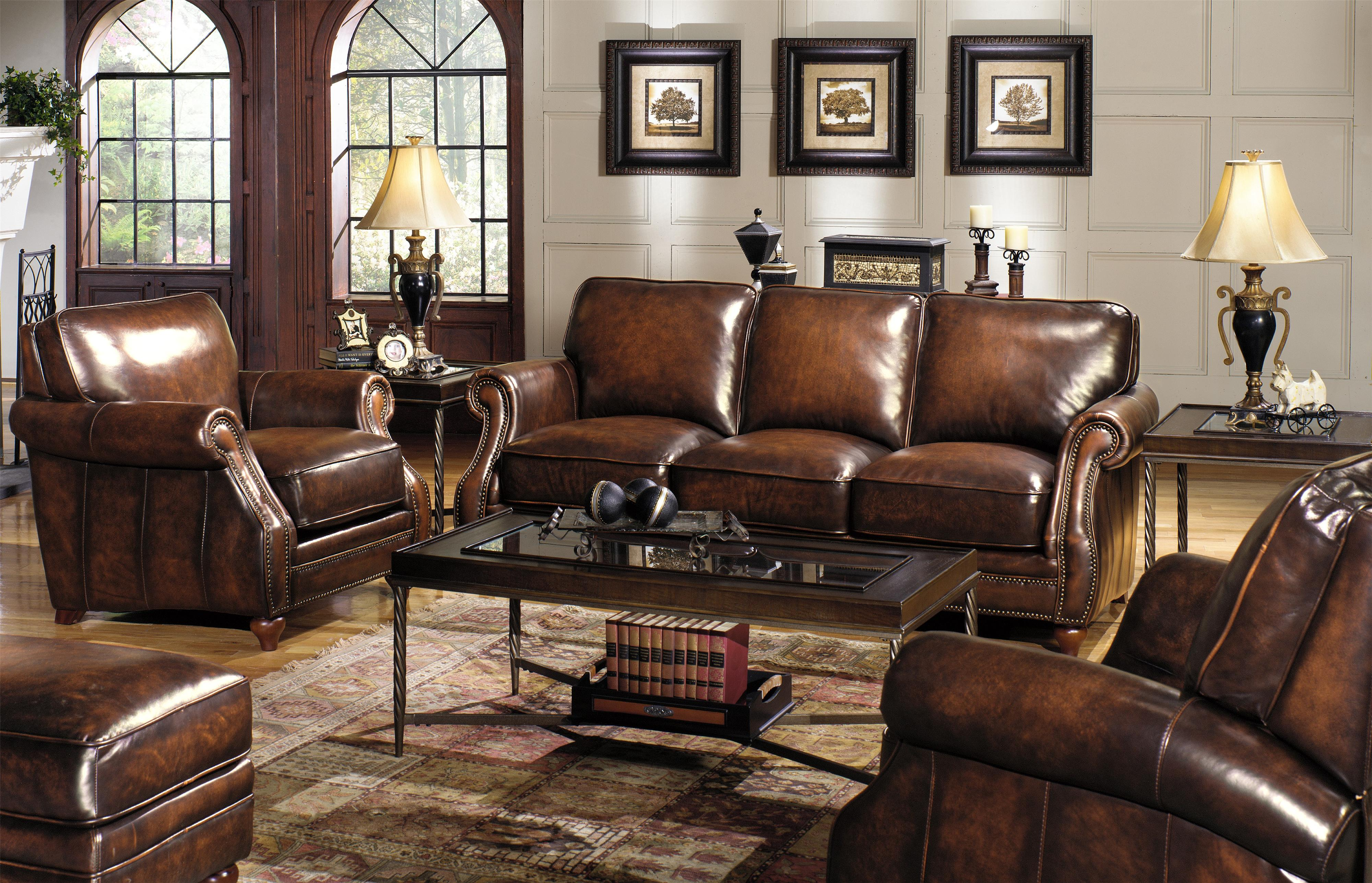 Sofa for Traditional style leather sofas