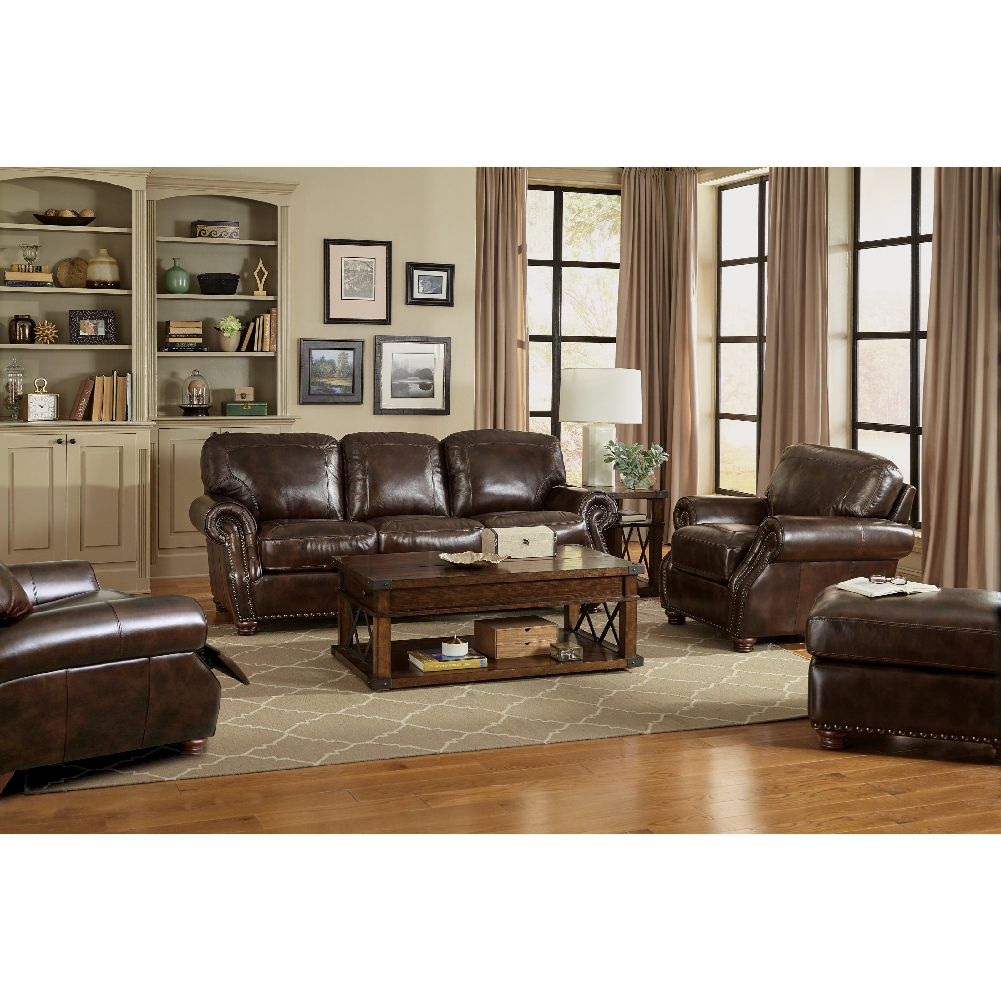 Craftmaster L1611 Traditional Living Room Group Jacksonville Furniture Mart Stationary