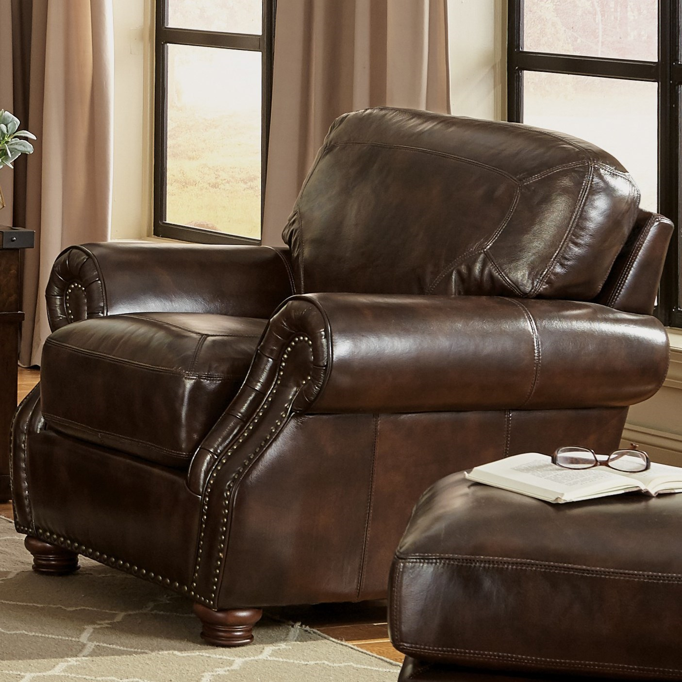 Craftmaster L1611 Traditional Chair With Rolled Arms Olinde 39 S Furniture Upholstered Chairs