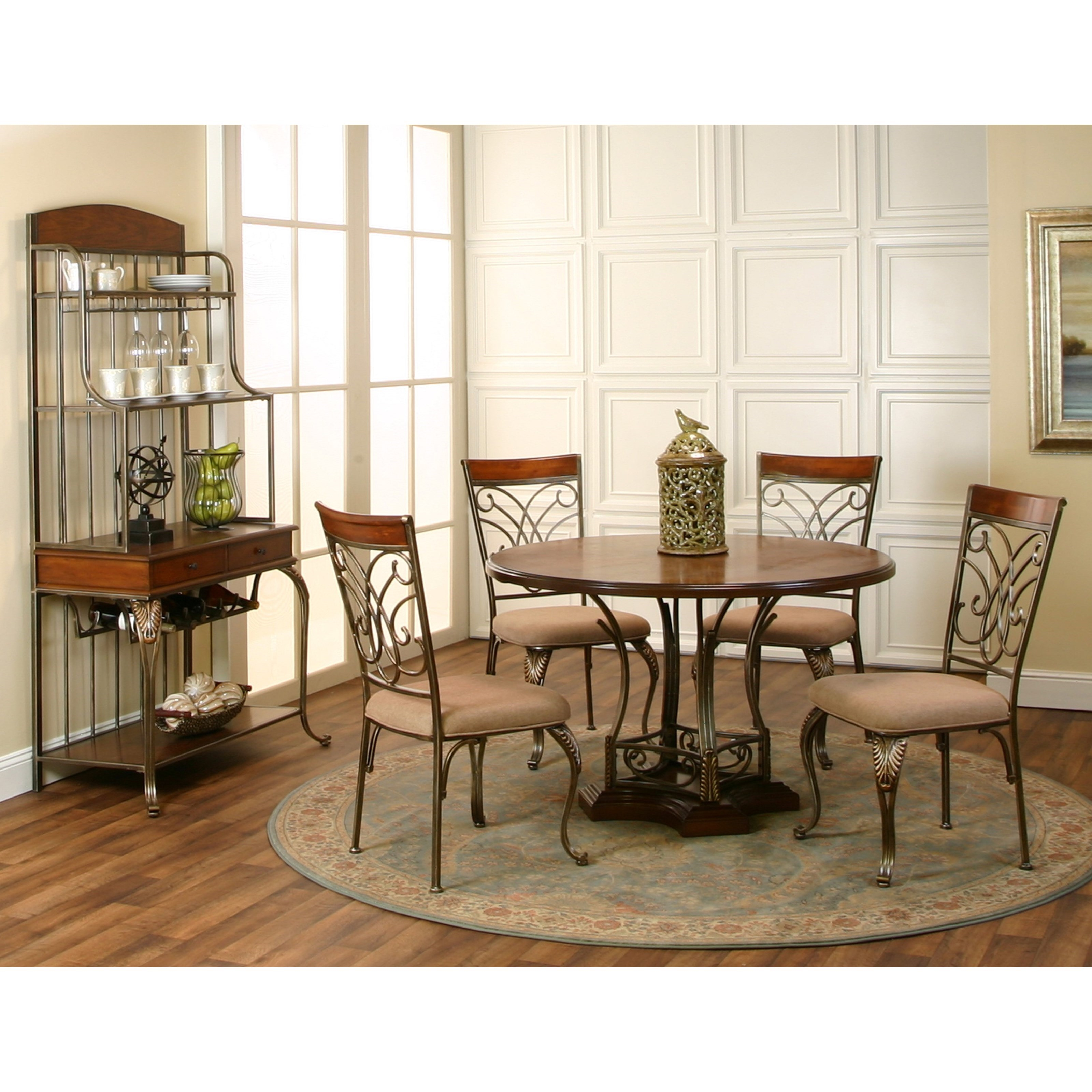 Cramco inc harlow casual dining room group nassau for Casual dining room furniture
