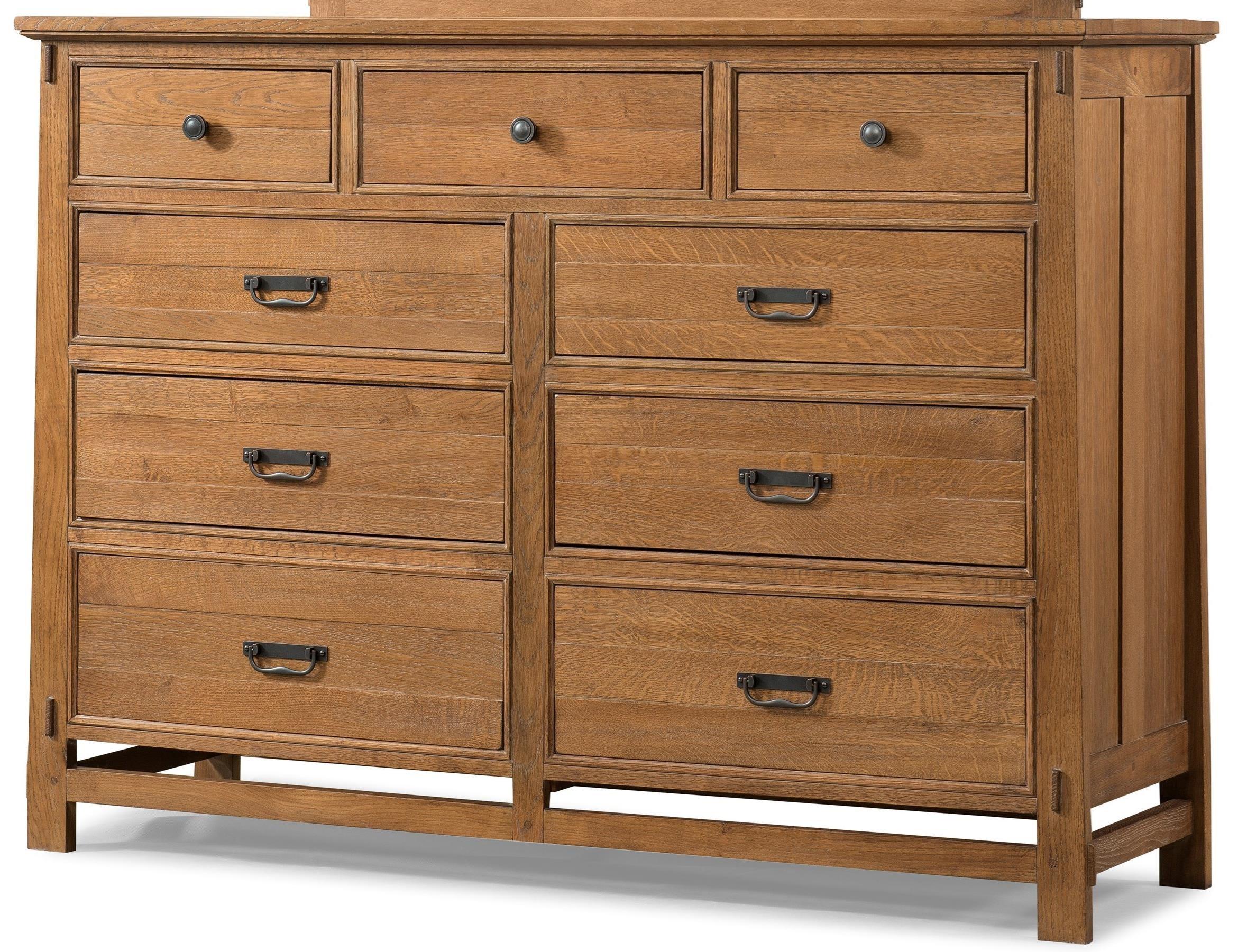 Cresent fine furniture camden 202 101 9 drawer media for Furniture 101