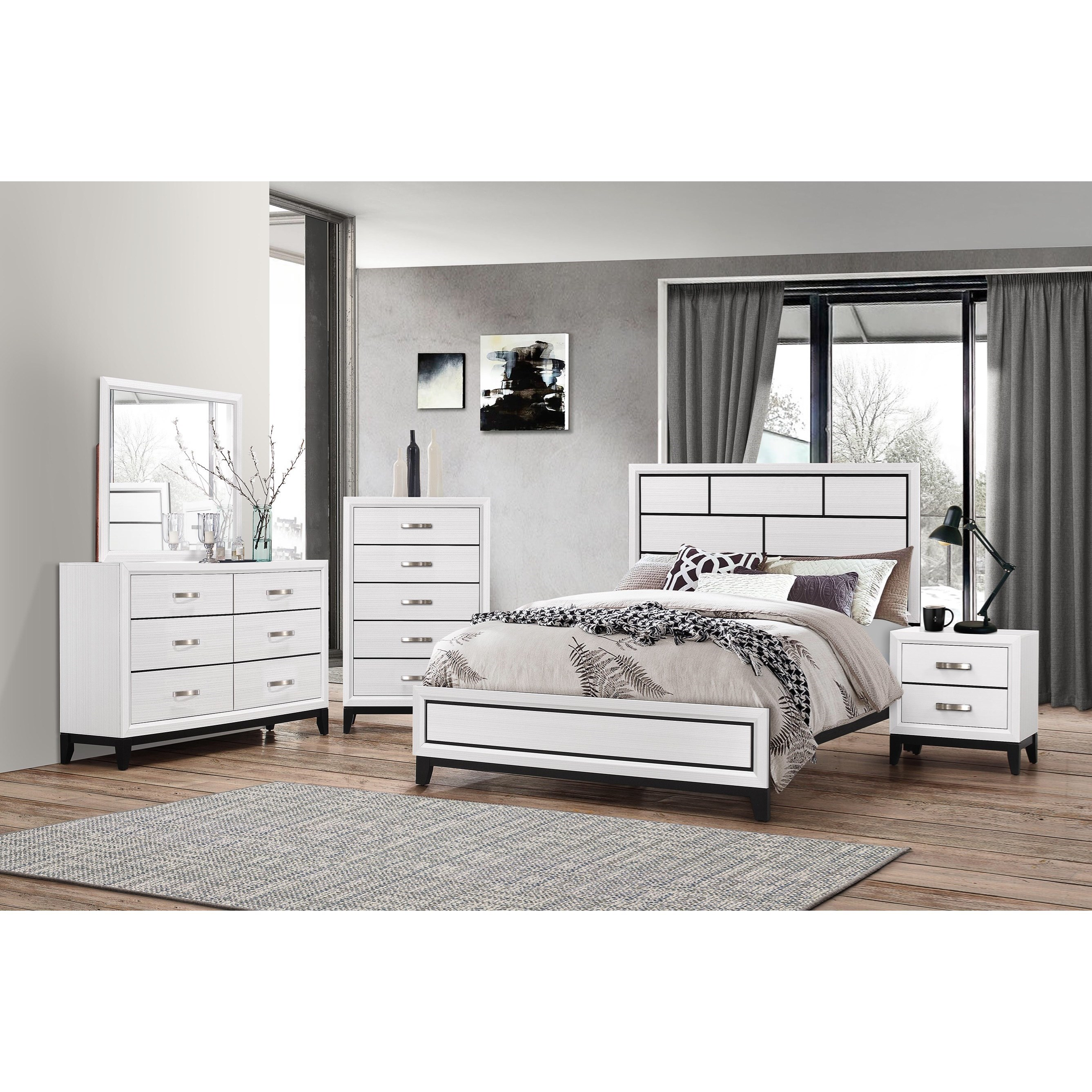 Akerson Queen Bedroom Group by Crown Mark at Northeast Factory Direct