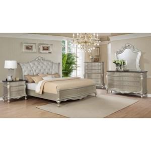 Crown Mark Lyssa Queen Bedroom Group Royal Furniture