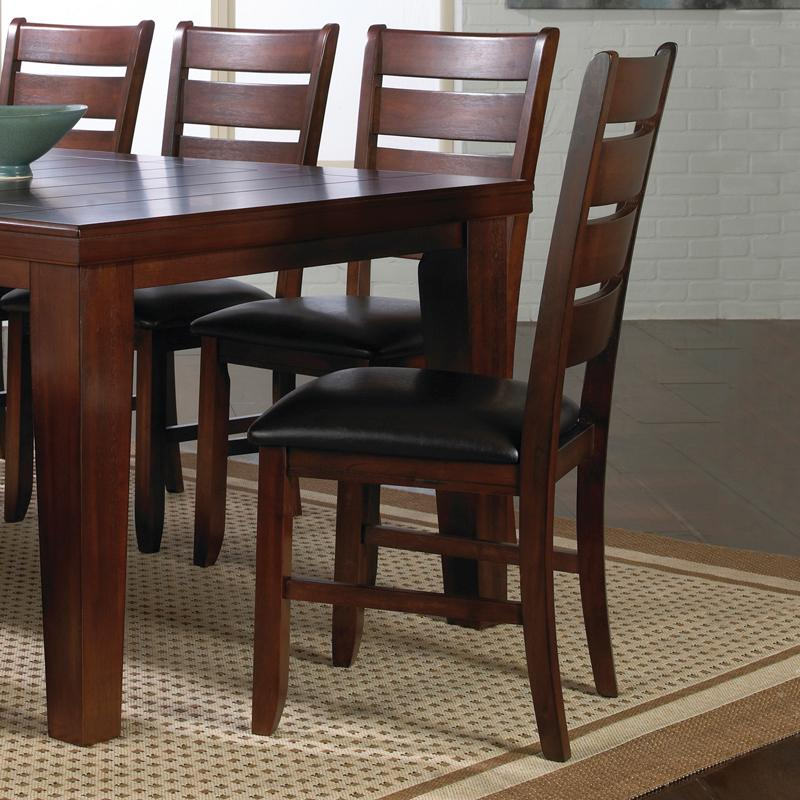 Crown mark bardstown side chair with upholstered seat for Dining room tables jacksonville nc