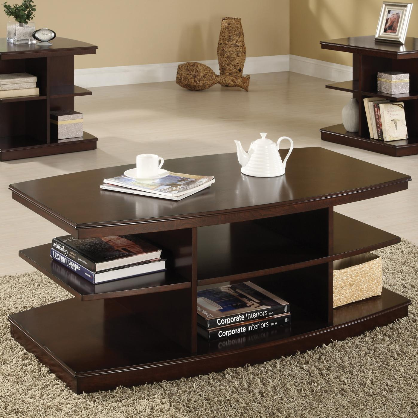 Crown mark ella 4168 01 coffee table del sol furniture for Markup table