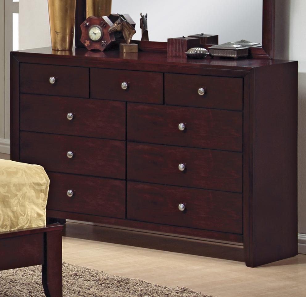 Crown mark evan b4700 1 9 drawer dresser del sol for Furniture markup