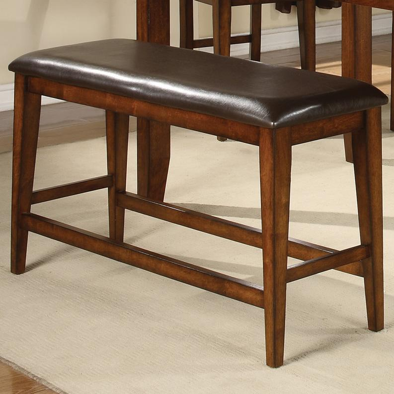 Crown Mark Figaro Counter Height Bench - Item Number: 2701-BENCH