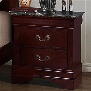 Crown Mark B3800 Louis Phillipe Queen Bedroom Group Bullard Furniture Bedroom Group