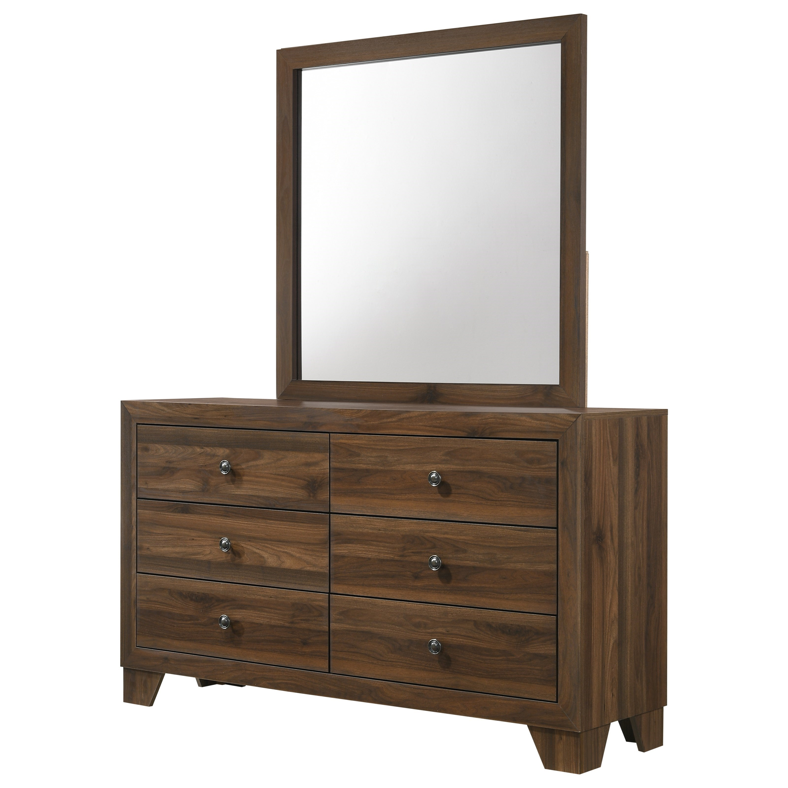 Millie Dresser and Mirror Set by Crown Mark at Northeast Factory Direct