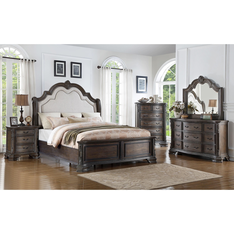 crown mark sheffield queen bedroom group royal furniture. Black Bedroom Furniture Sets. Home Design Ideas