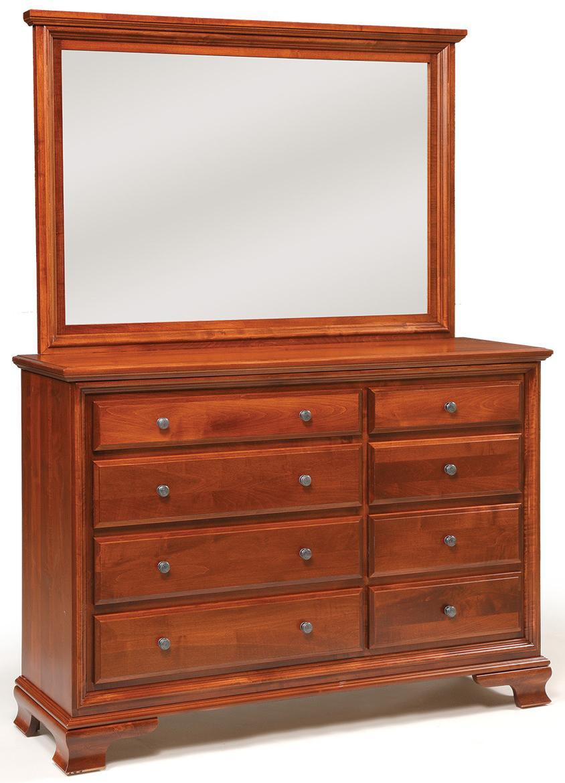 Daniel s Amish Classic 8 Drawer Triple Dresser Fashion