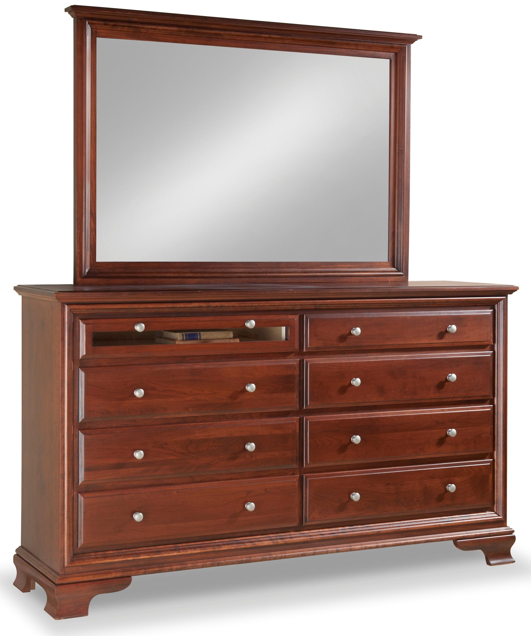 Daniel s Amish Classic Landscape Dresser Mirror Fashion